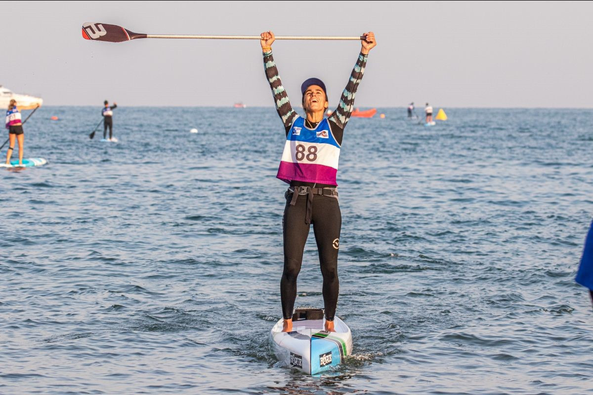 Qingdao hosted the ICF's 2019 SUP World Championships ©ICF