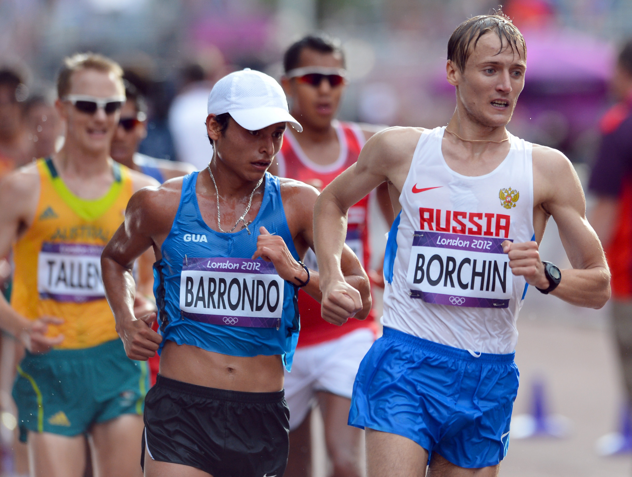 Russian racewalker Borchin rejects return to competition after eight year doping ban