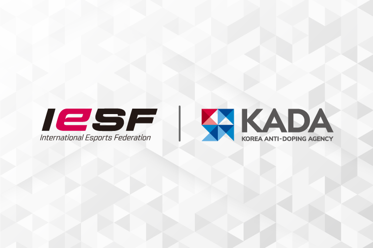 The International Esports Federation has signed a memorandum of understanding with the Korea Anti-Doping Agency ©IESF