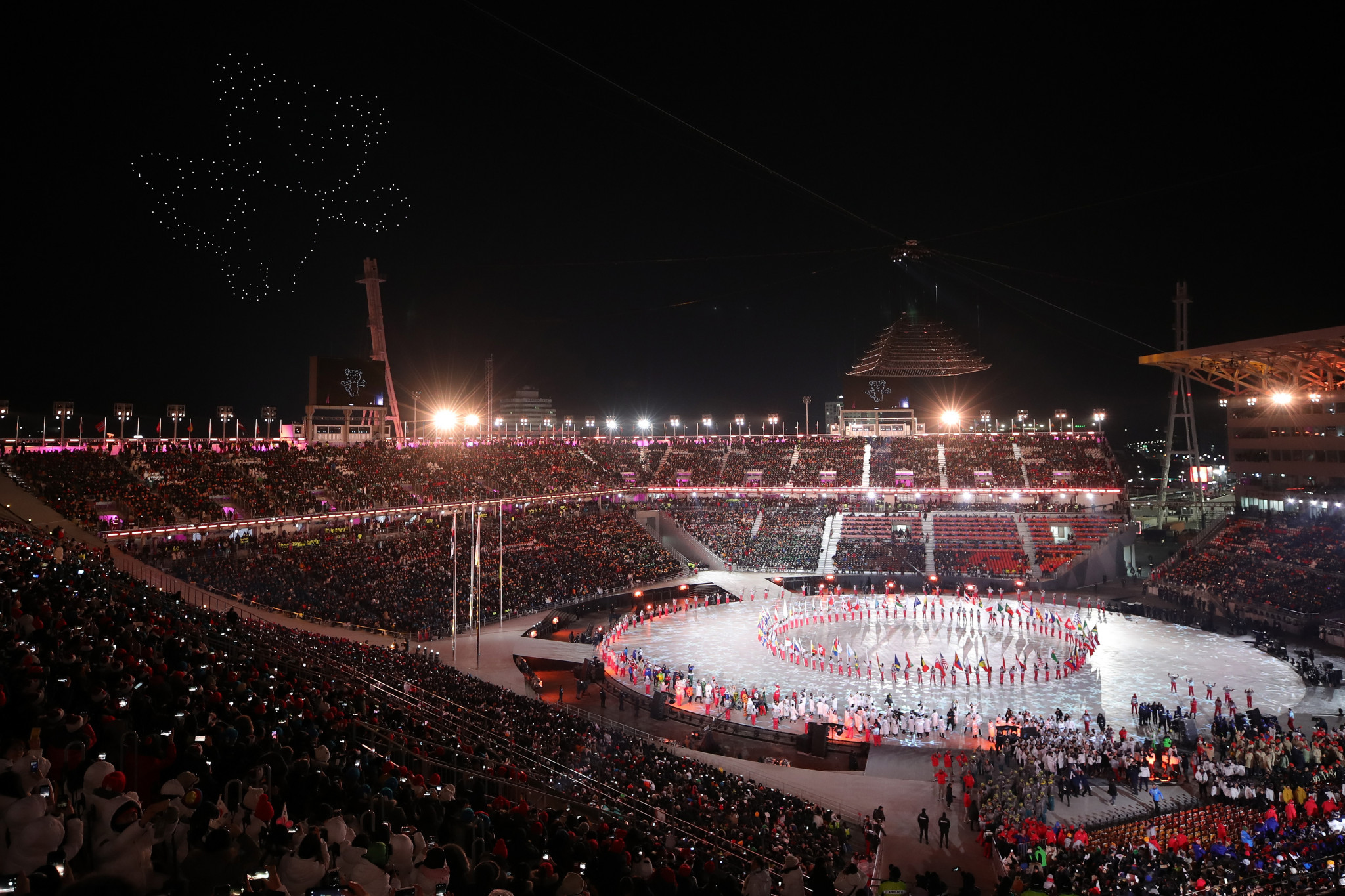 Russian hackers allegedly targeted the Opening Ceremony of Pyeongchang 2018 as revenge against the decision by the International Olympic Committee not to allow the country to compete under its own flag ©Getty Images