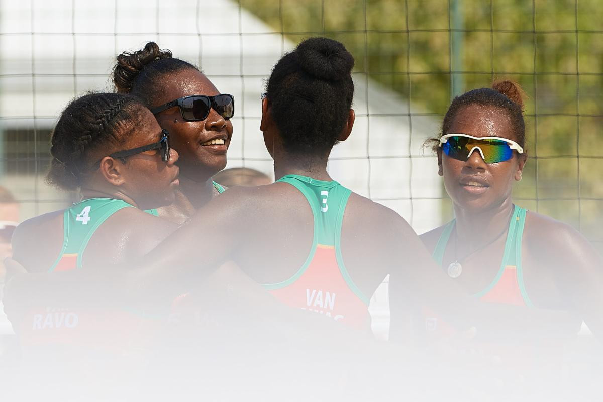Vanuatu NOC President reflects on upset volleyball win at ANOC World Beach Games