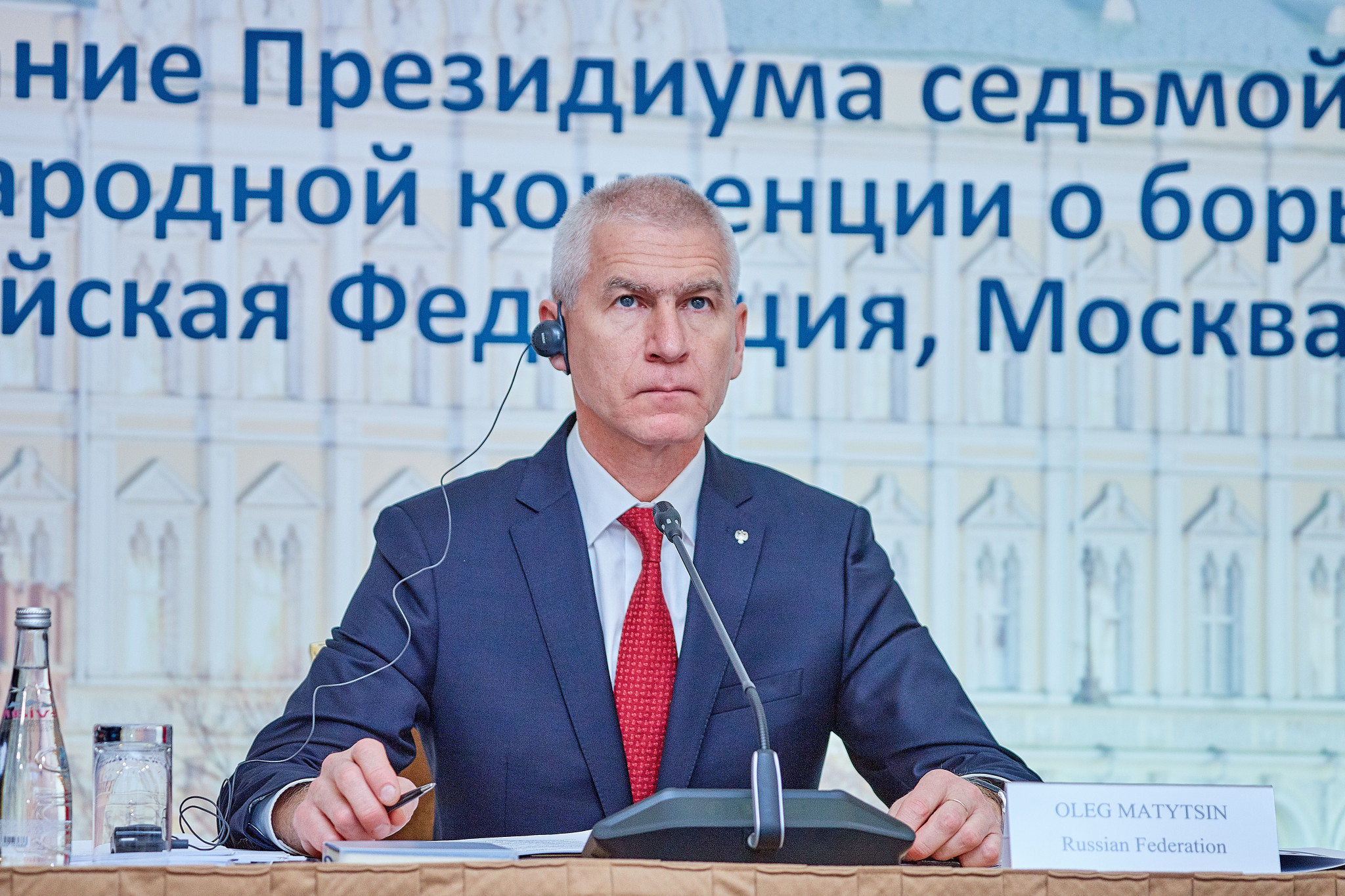 Russian Sports Minister claims fight against doping should be free of political interference