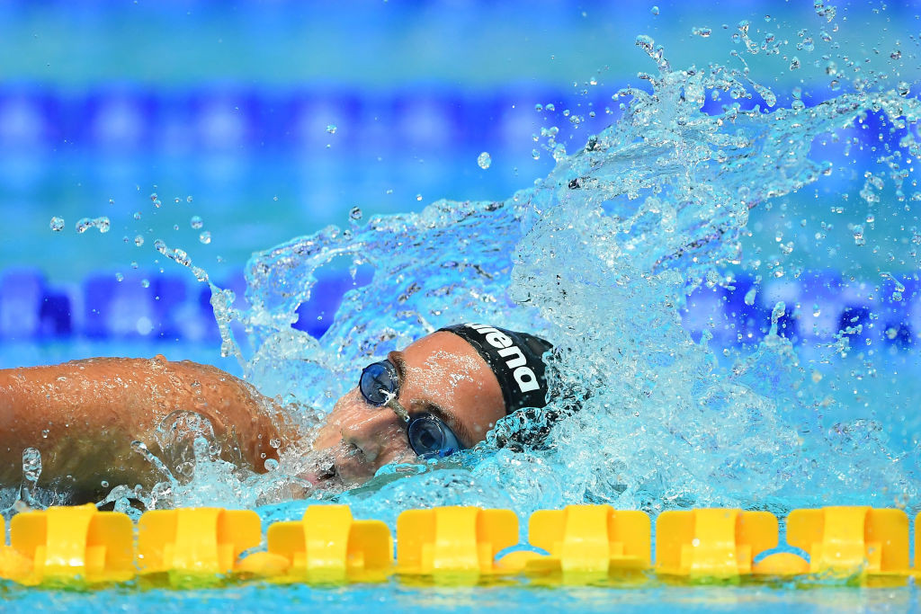 Italian swimming training camp suspended after more than 10 athletes test positive for COVID-19