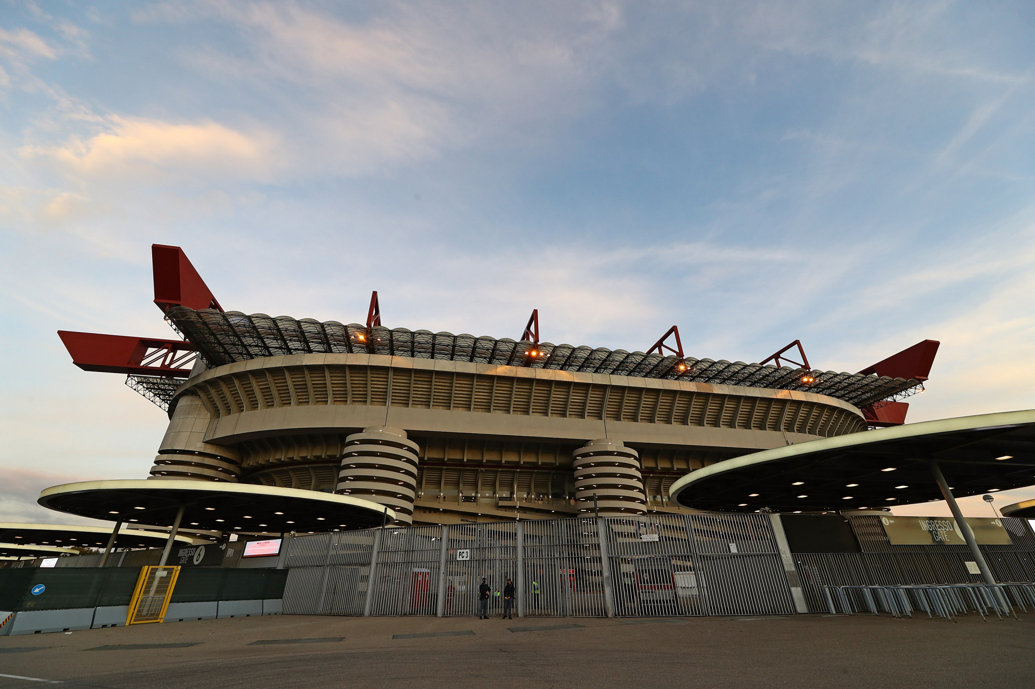 The San Siro is set to be used for the 2026 Olympic and Paralympic Games ©Getty Images