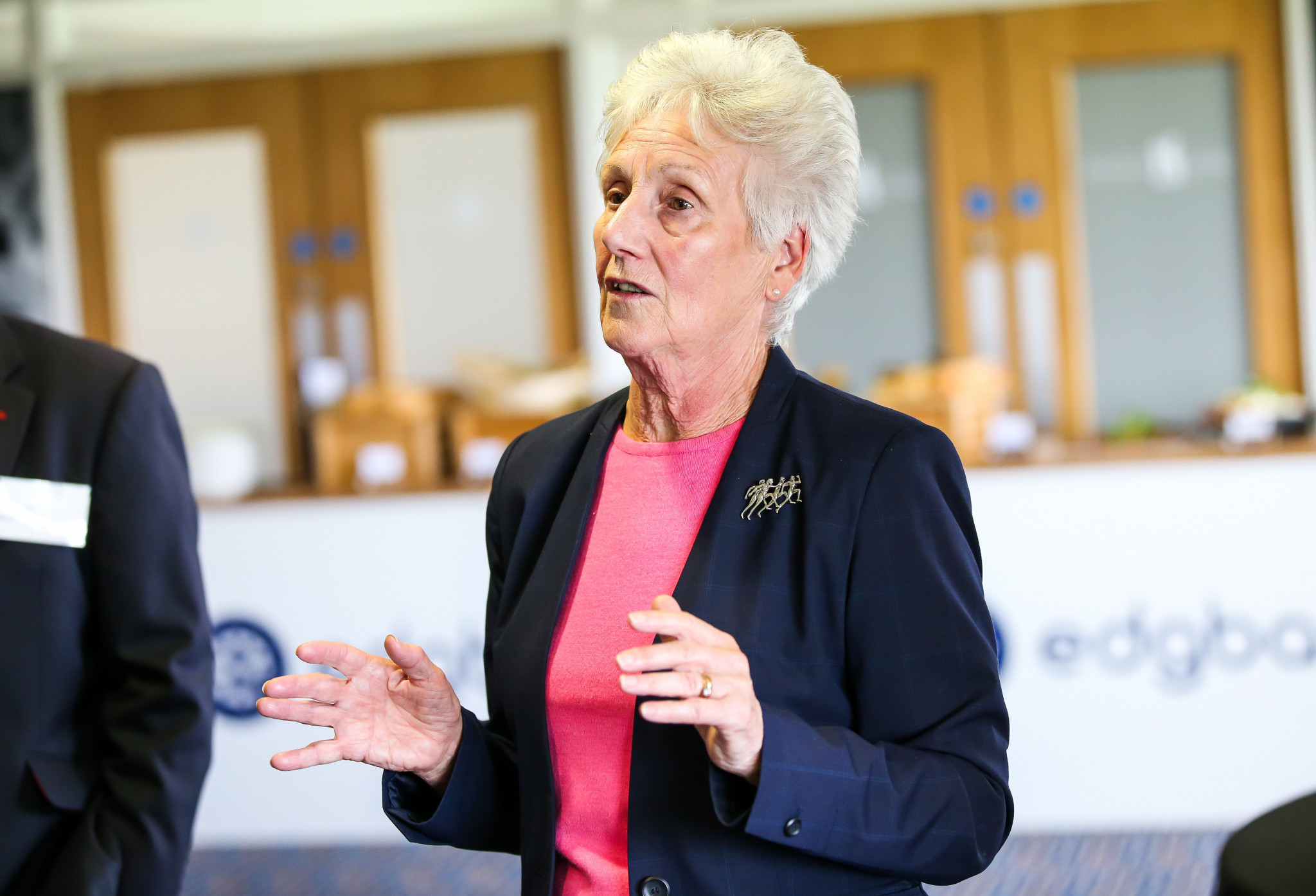 Commonwealth Games Federation President Dame Louise Martin is