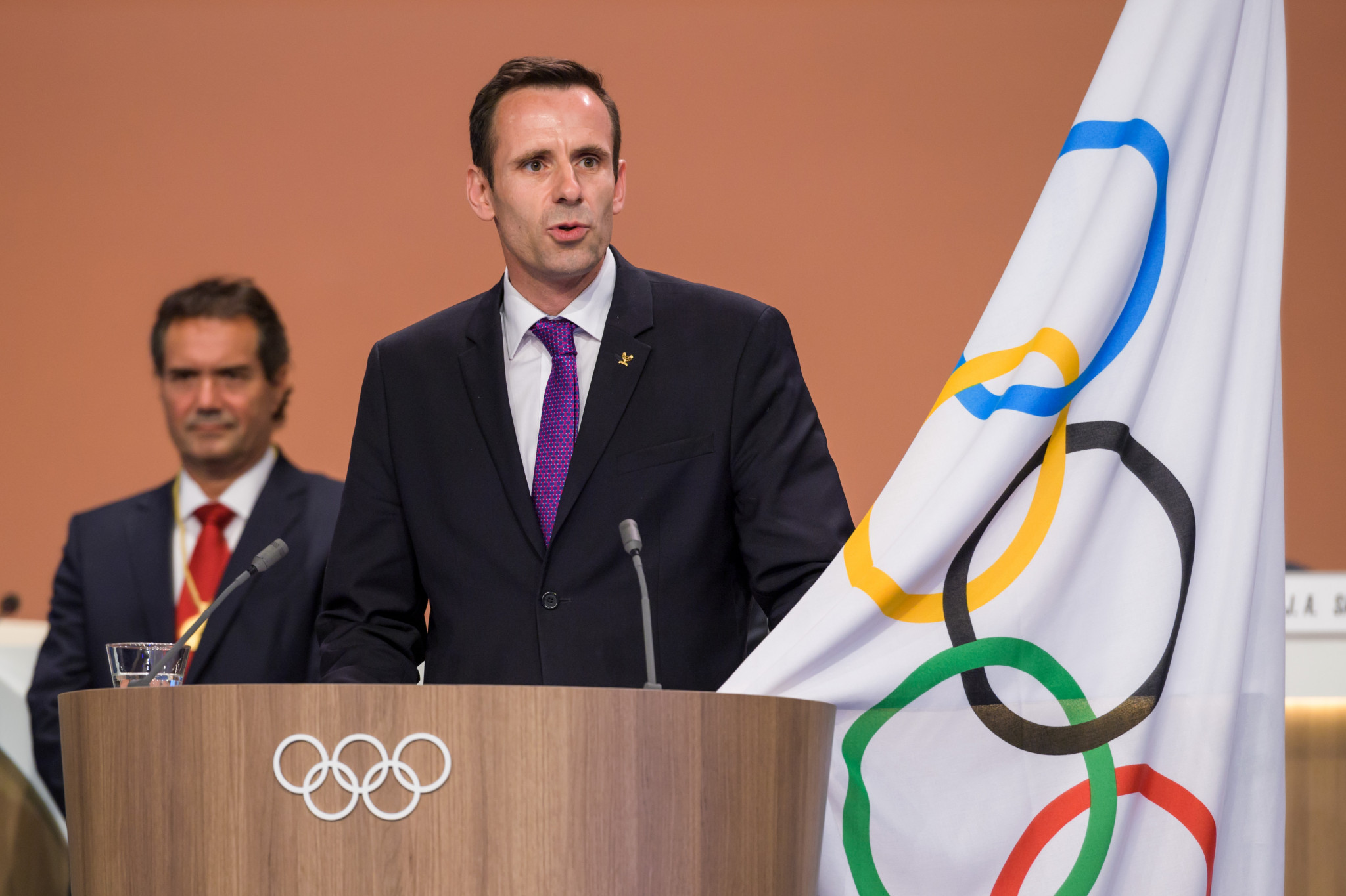 World Rowing President Jean-Christophe Rolland is concerned about the lack of women attending Congresses ©Getty Images