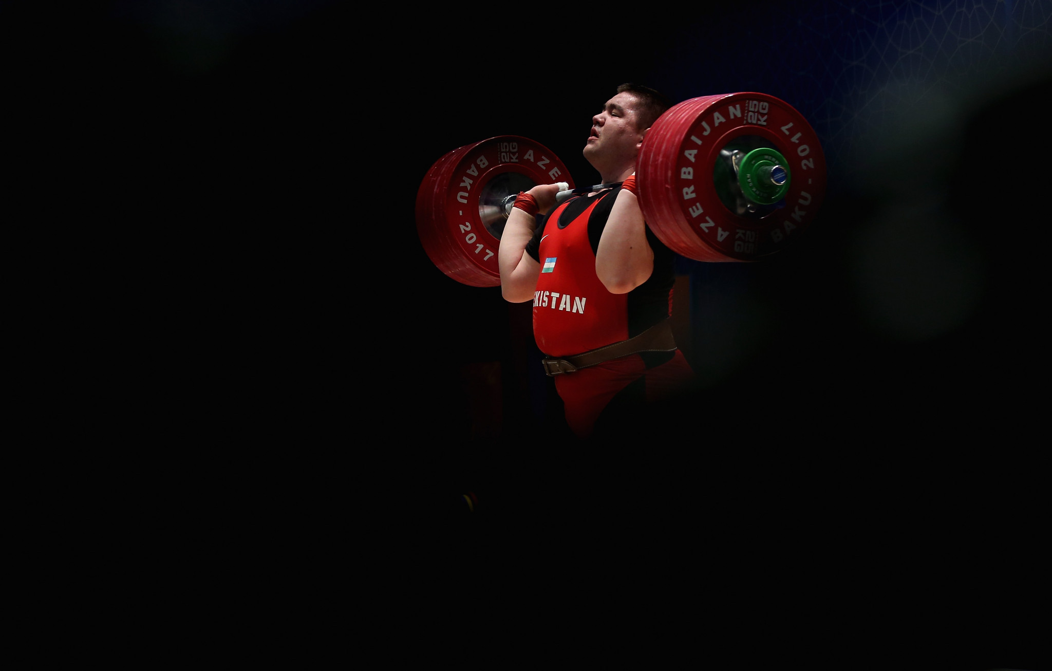 Rustam Djangabaev is provisionally suspended over an anti-doping violation involving a growth hormone ©Getty Images