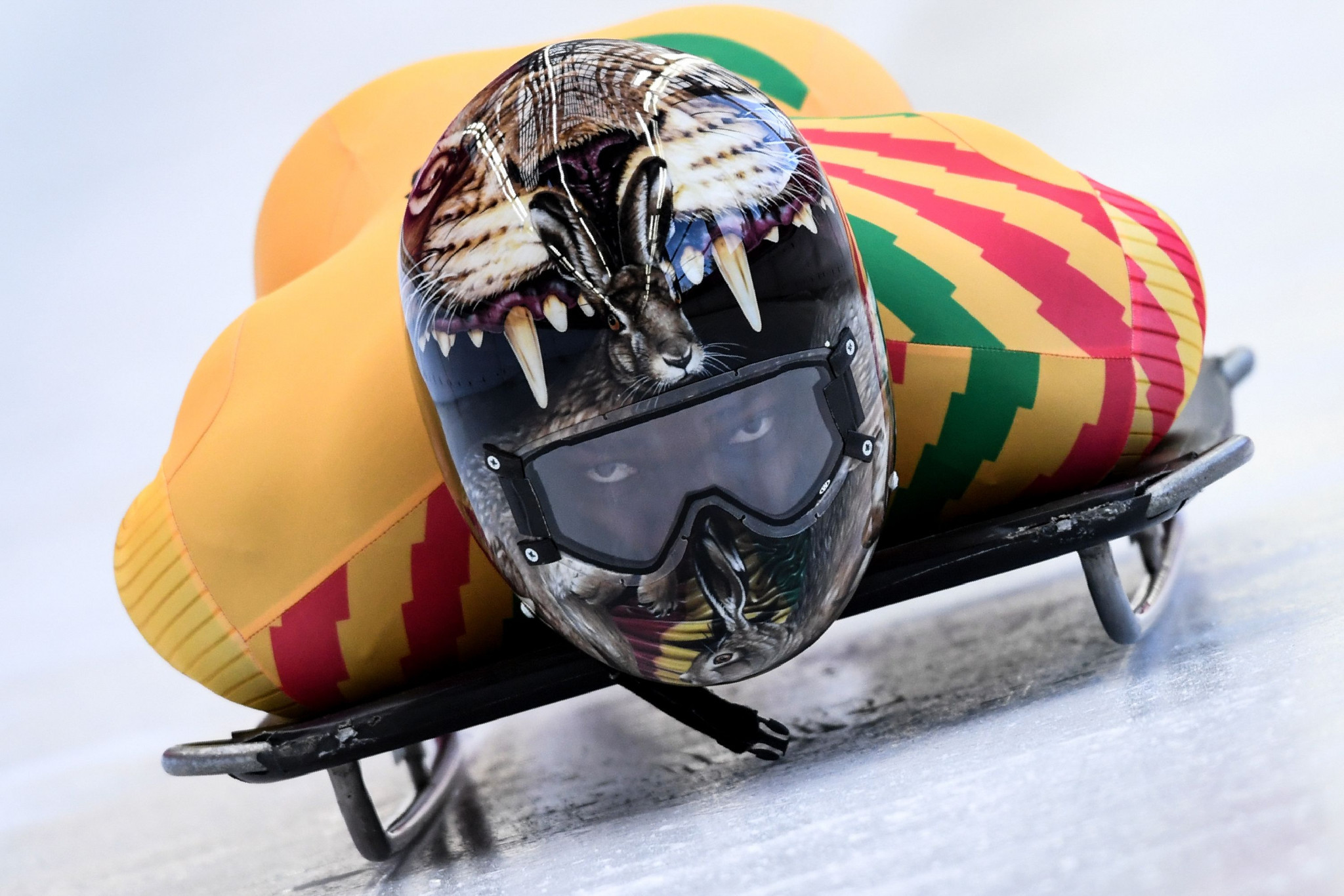 Akwasi Frimpong is hoping a spell training with the Russian skeleton team in Sochi will help him qualify for a second consecutive Winter Olympic Games at Beijing 2022 ©Getty Images