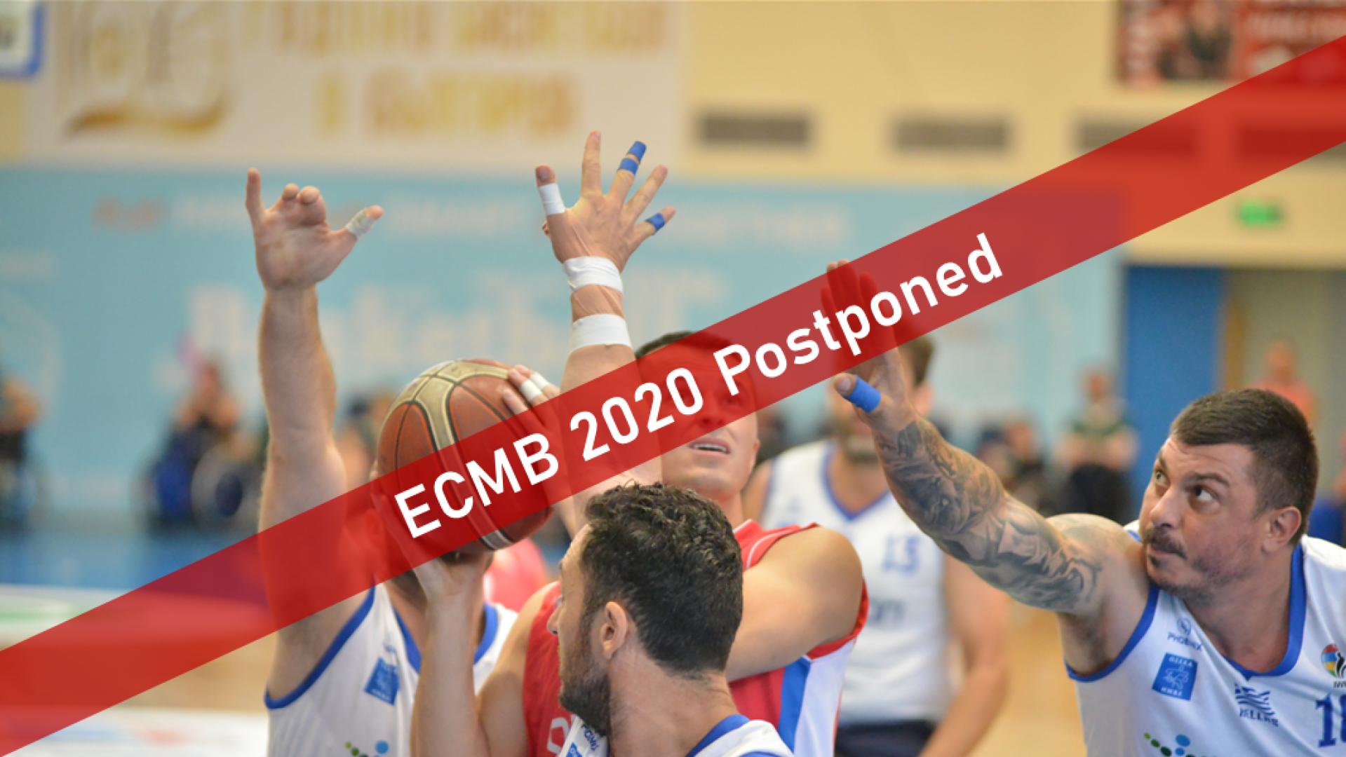 IWBF Europe postpones Men's European Championship Division B