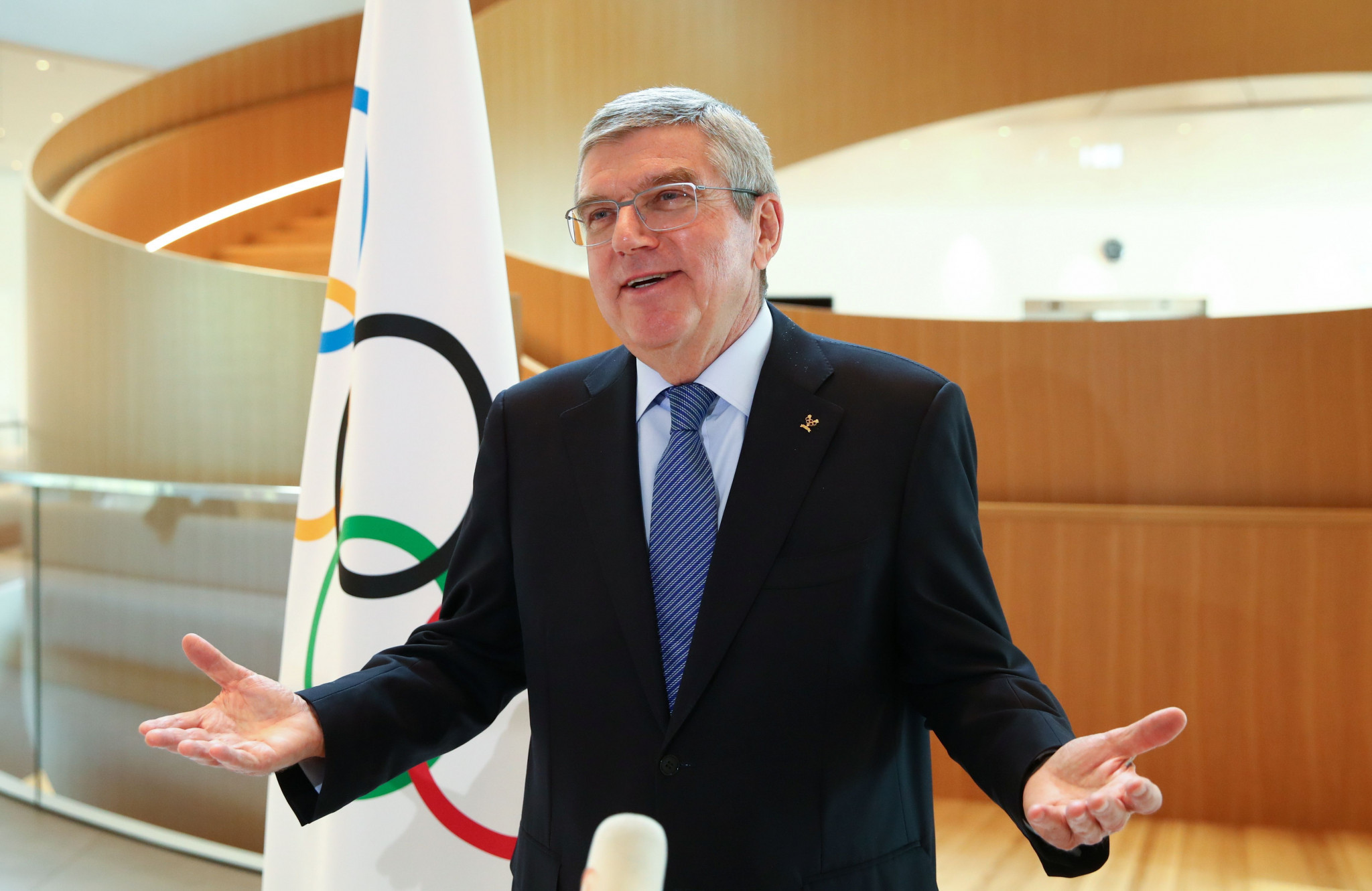 """Olympics should be about unity and not """"a marketplace of demonstrations"""", Bach implores"""