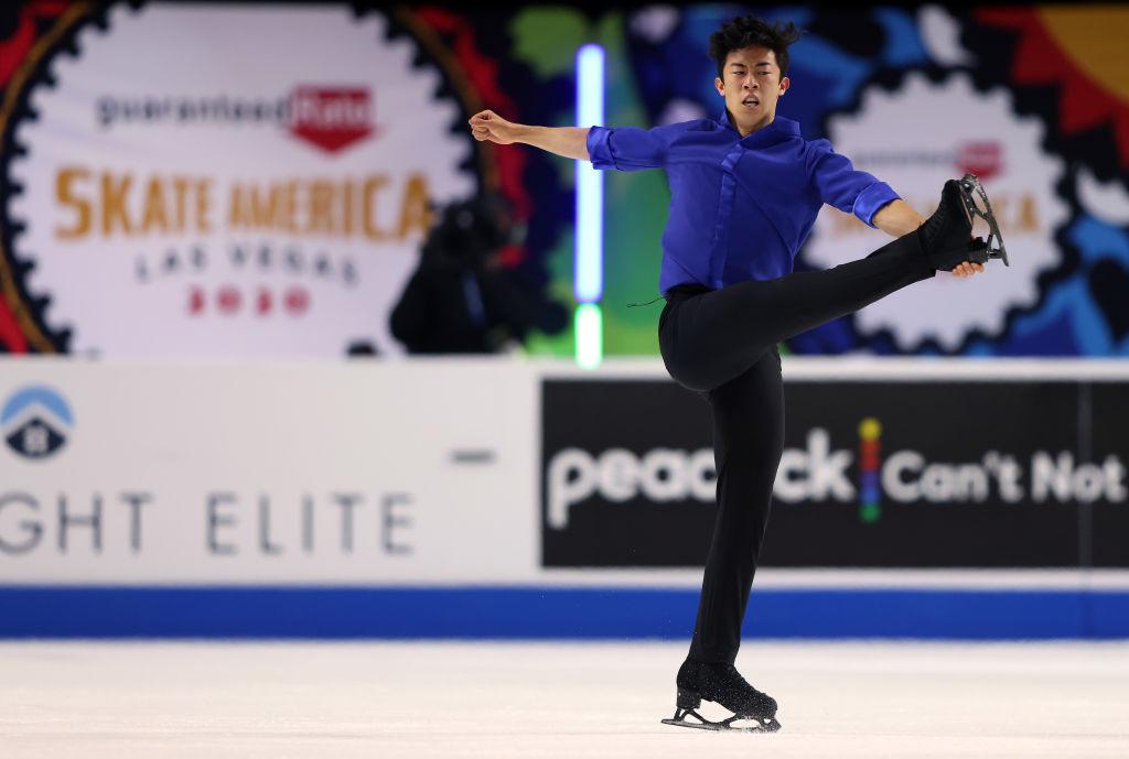 Chen dominates to win fourth consecutive Skate America title