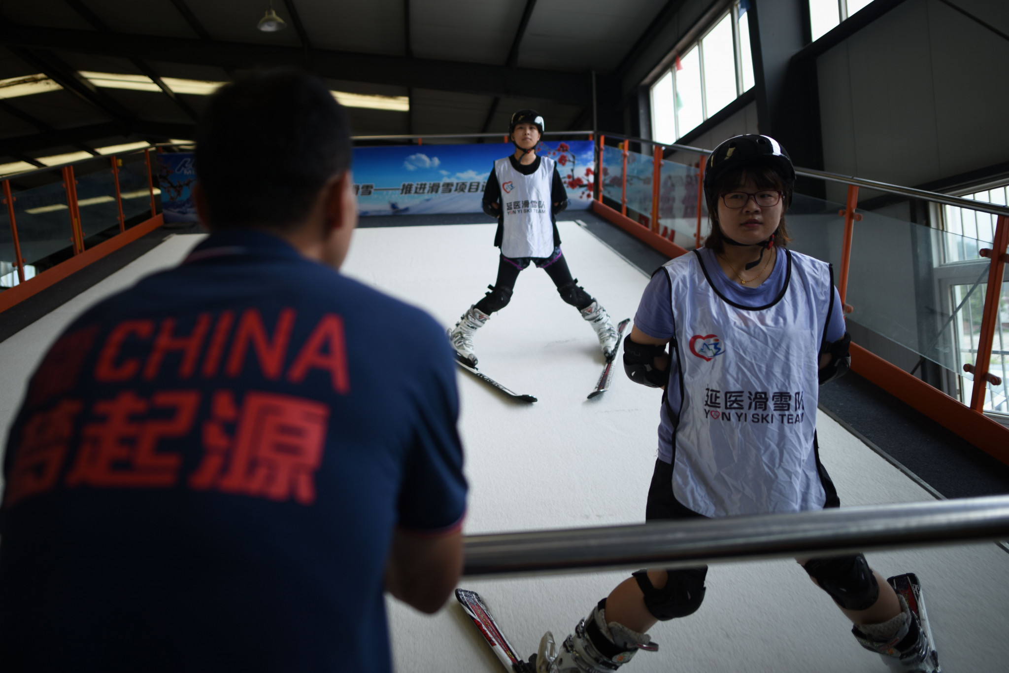 The Chinese Government has set a target of having 300 million people participating in winter sports by Beijing 2022 ©Getty Images