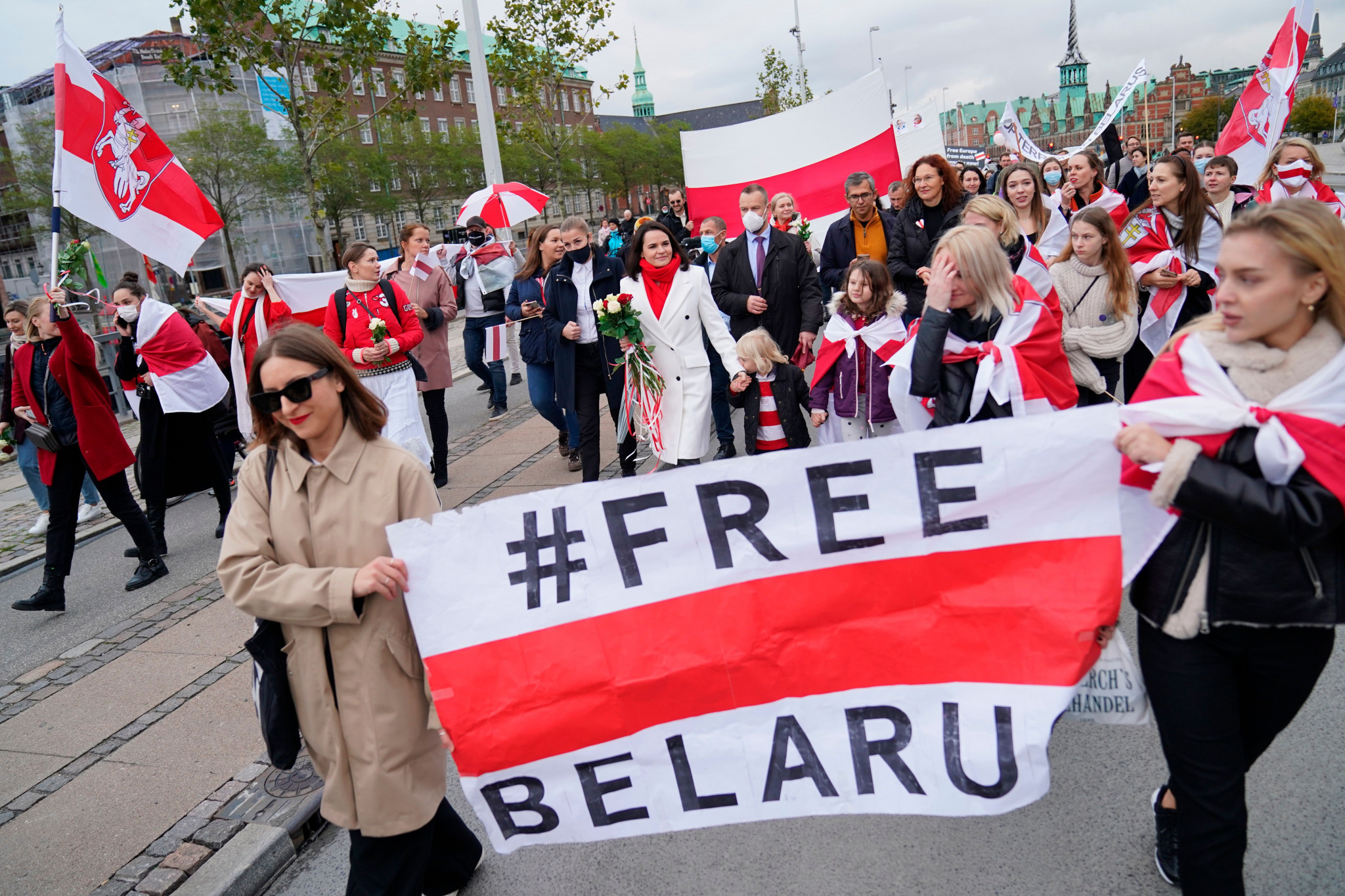 Protests in Belarus against President Alexander Lukashenko have led to calls for the IIHF to strip the country of the hosting rights for the 2021 World Championship ©IIHF