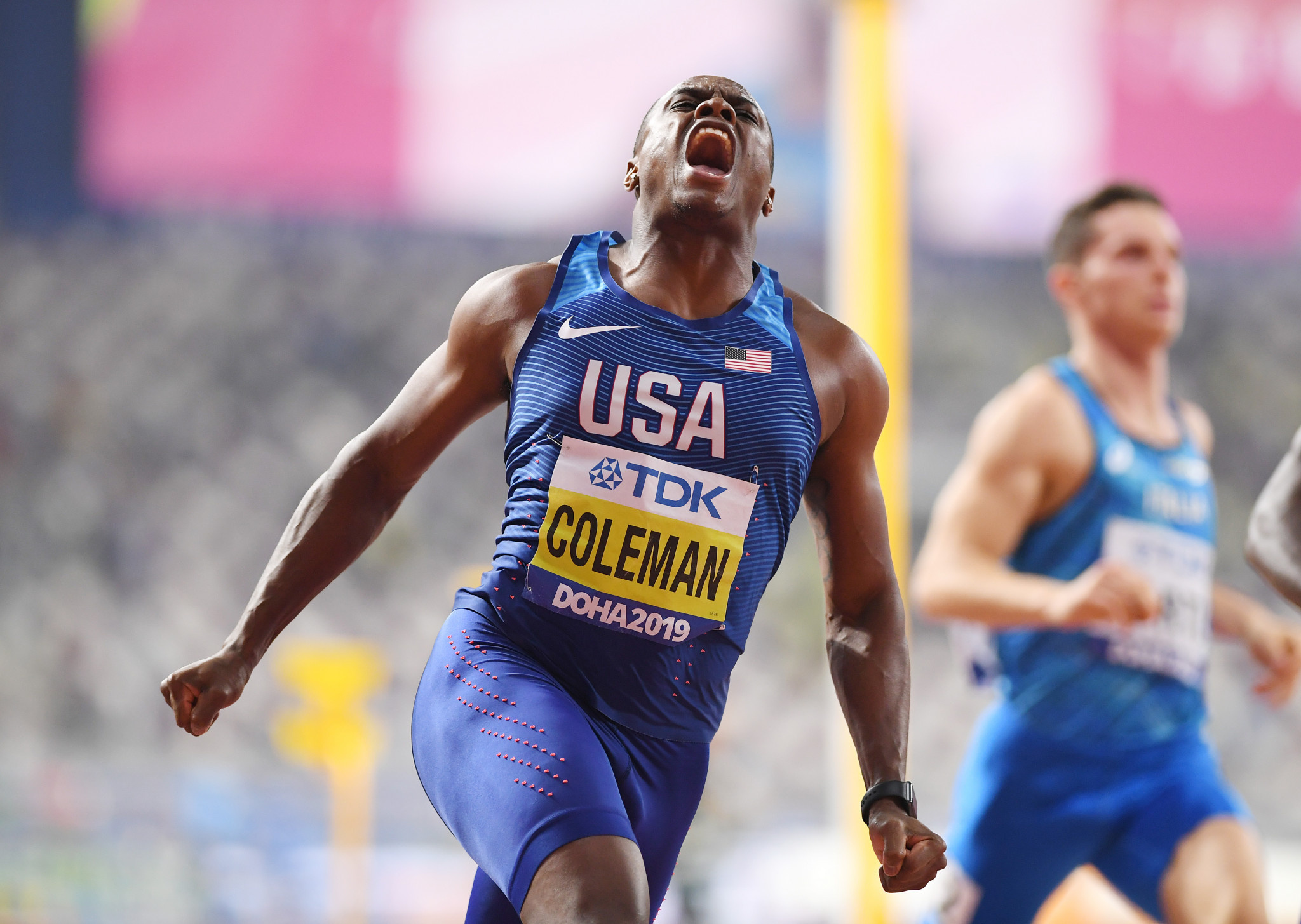 World 100m champion Coleman banned for two years for missed drugs tests