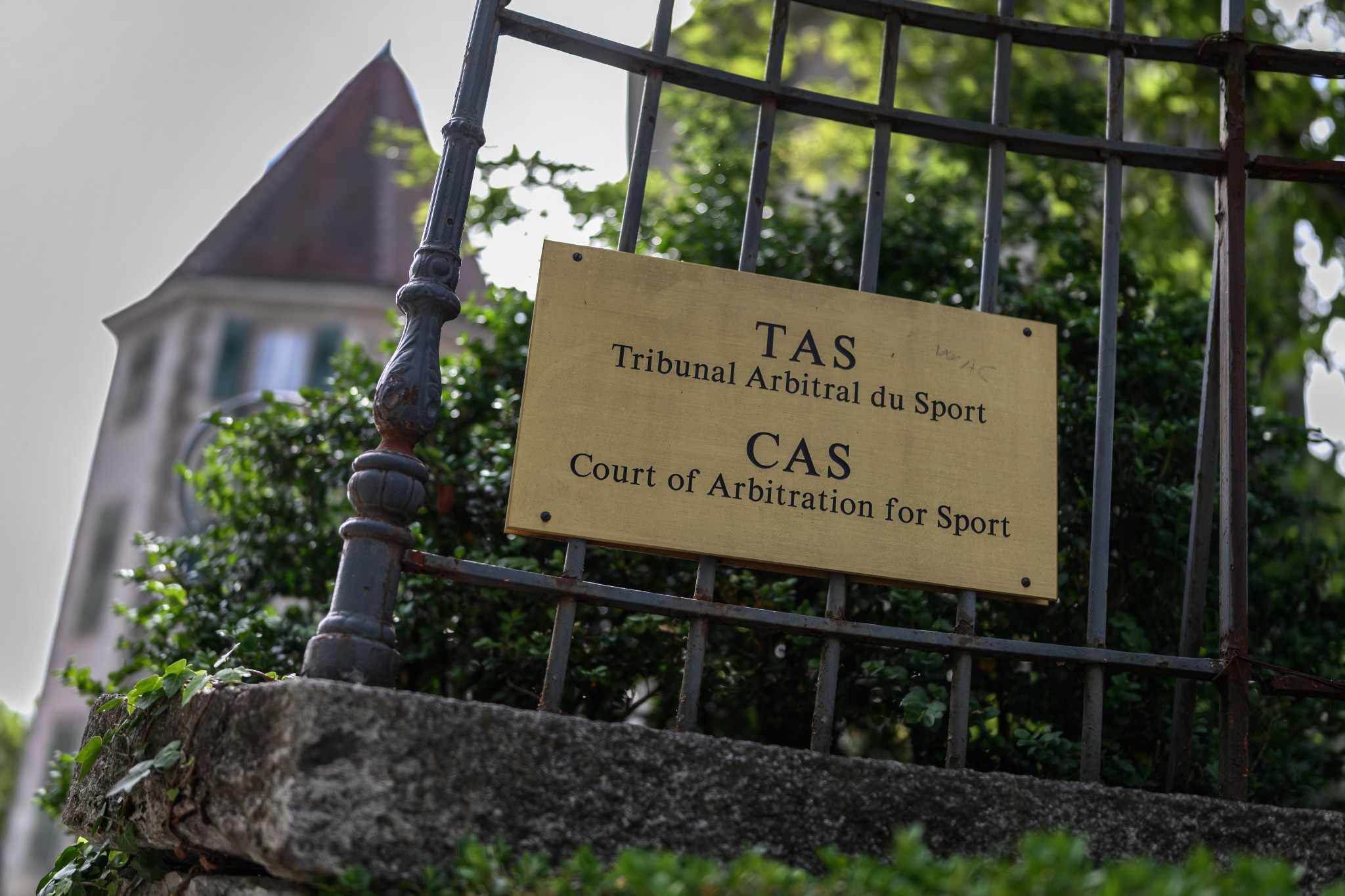 A new CAS panel has been installed for the second hearing ©Getty Images