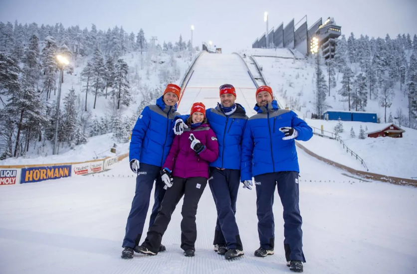 FIS Nordic combined team completes online inspections of World Cup venues