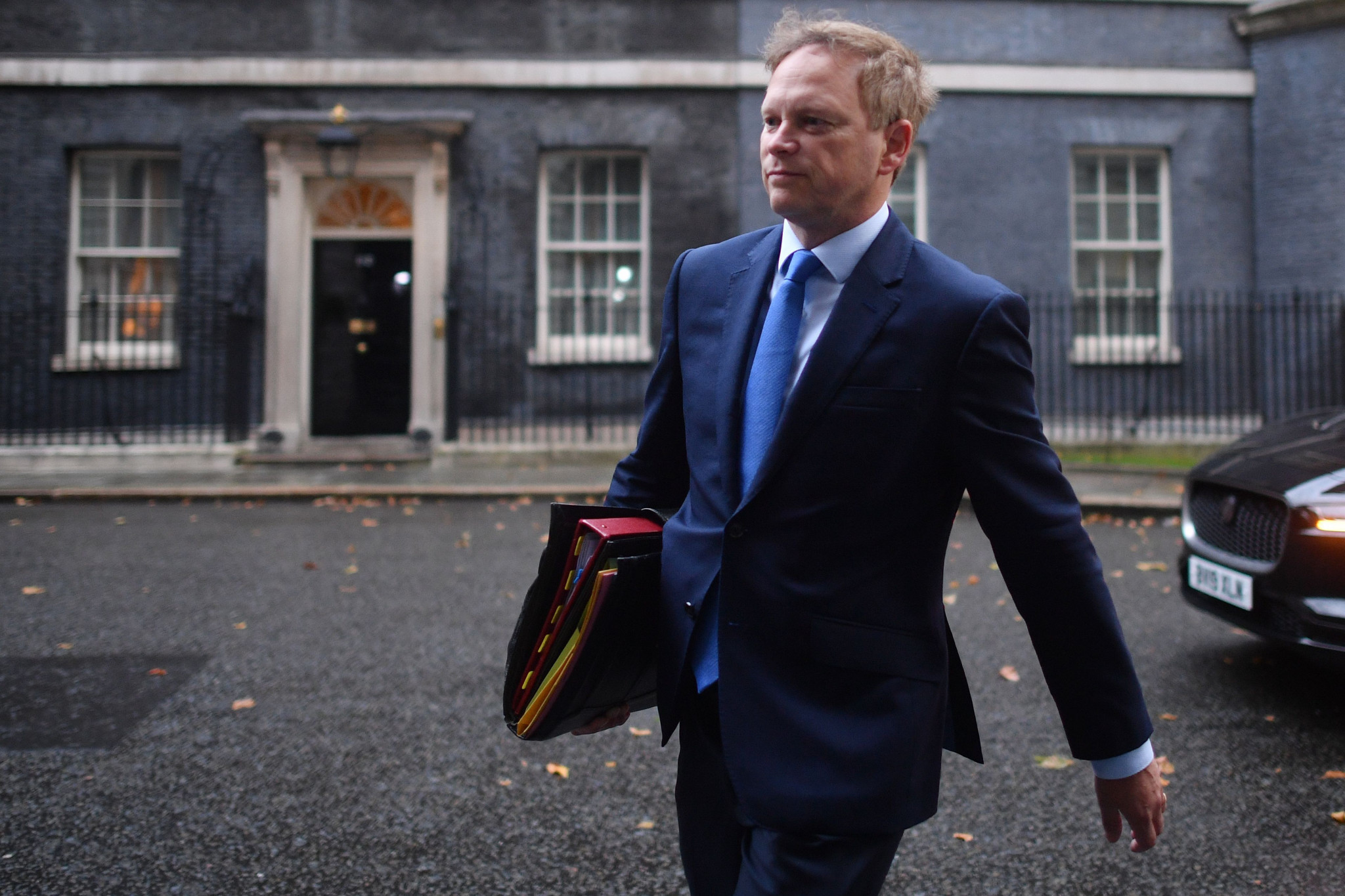 British Transport Secretary Grant Shapps formally instruct WMCA to produce the transport plan ©Getty Images