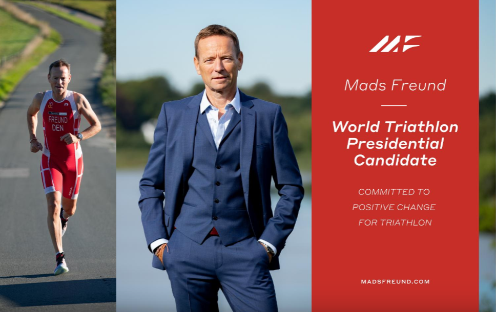 Freund vows to give more power to continental federations if elected World Triathlon President