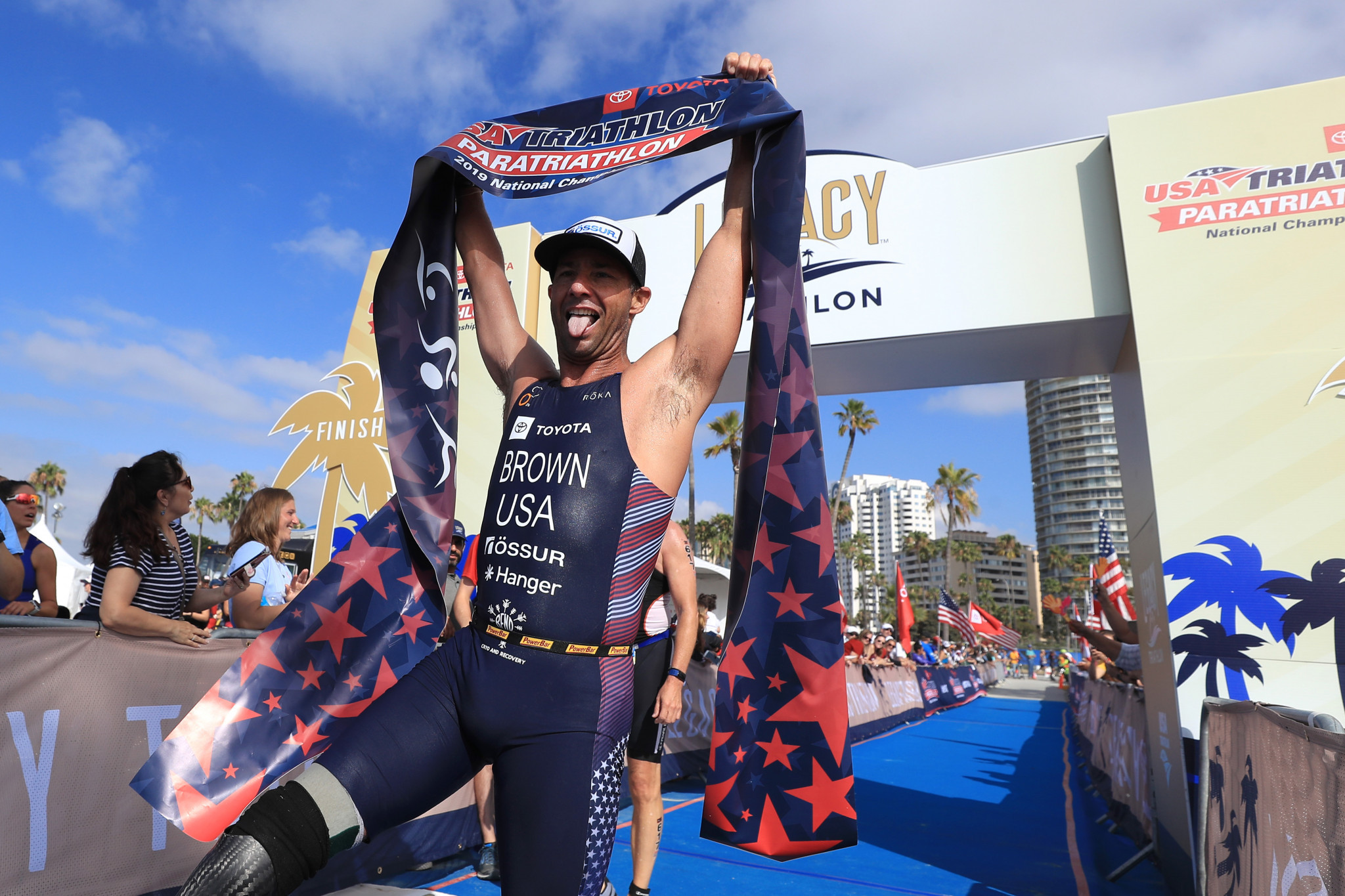 US Para-triathlete Brown cleared of doping violation after contamination defence