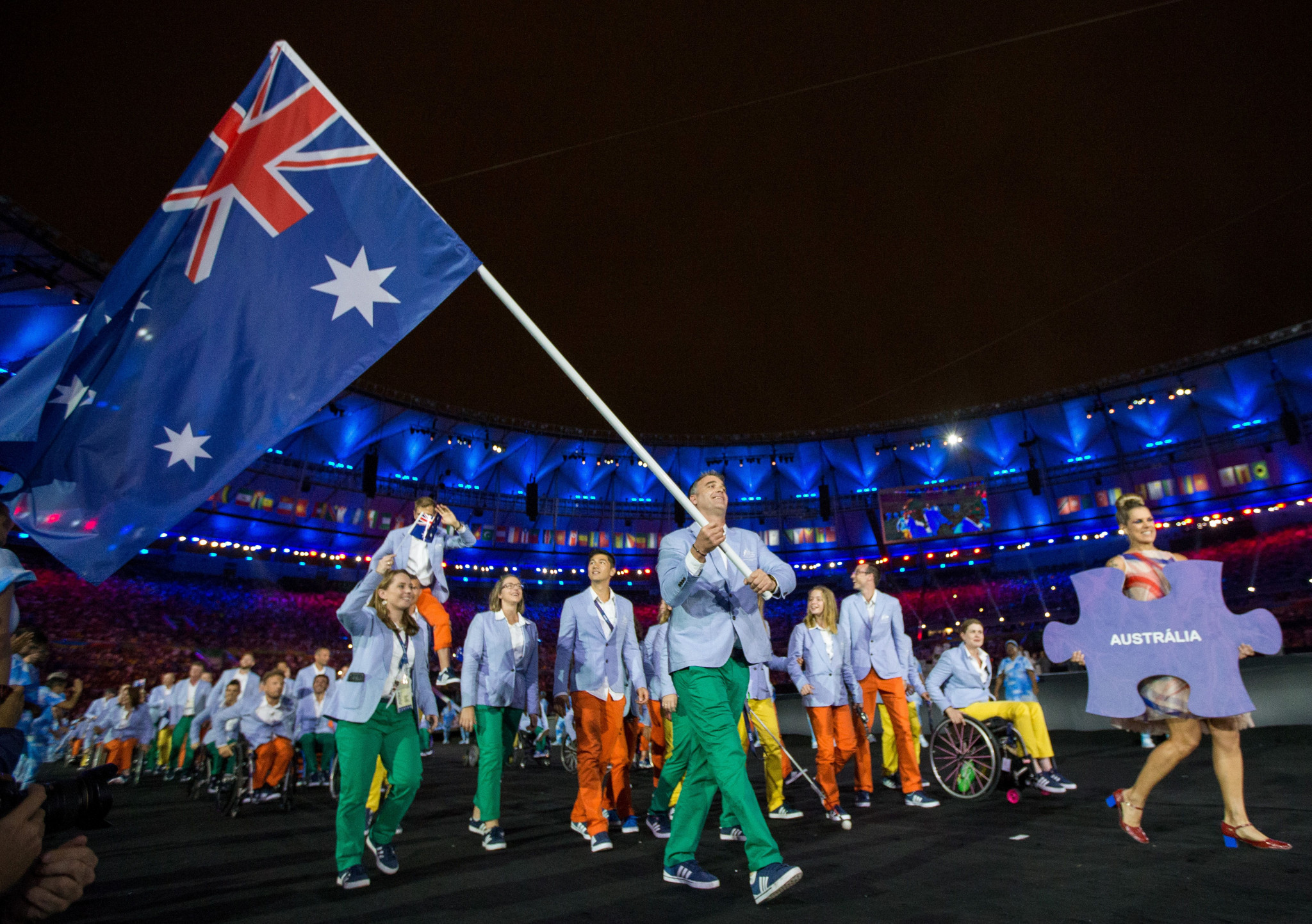 The Australian Government announced an investment into Paralympic high-performance programmes ©Getty Images