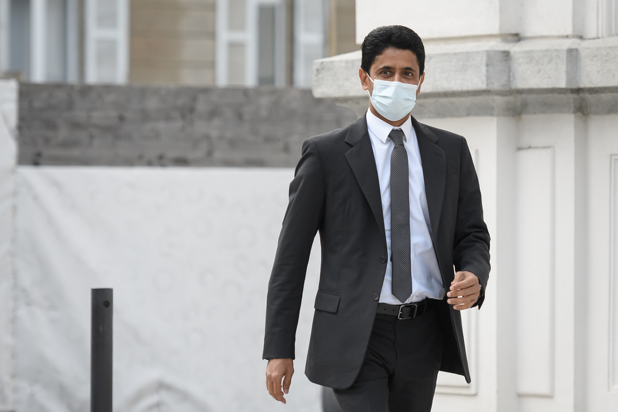 Nasser Al-Khelaifi said the charges against him had been