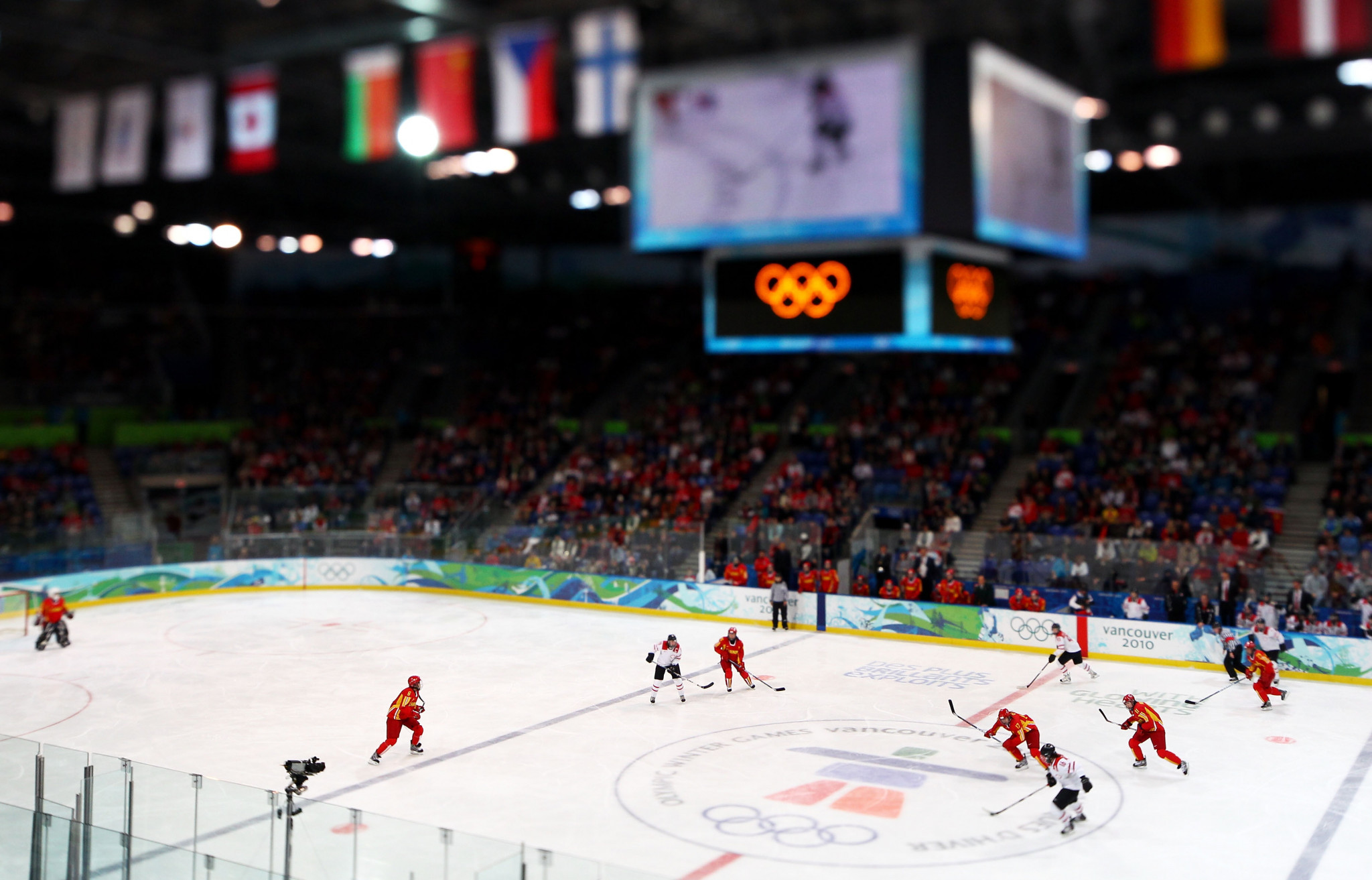 The Doug Mitchell Thunderbird Sports Centre was an ice hockey venue during the Vancouver 2010 Winter Olympics and Paralympics ©Getty Images
