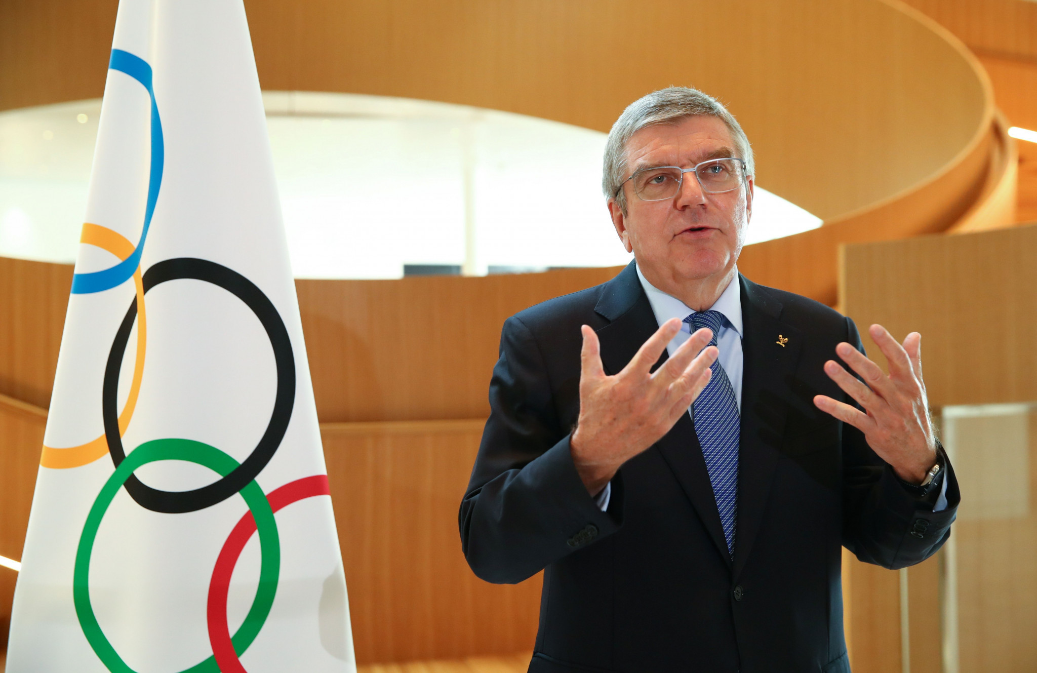Thomas Bach is expected to be re-elected in March ©Getty Images