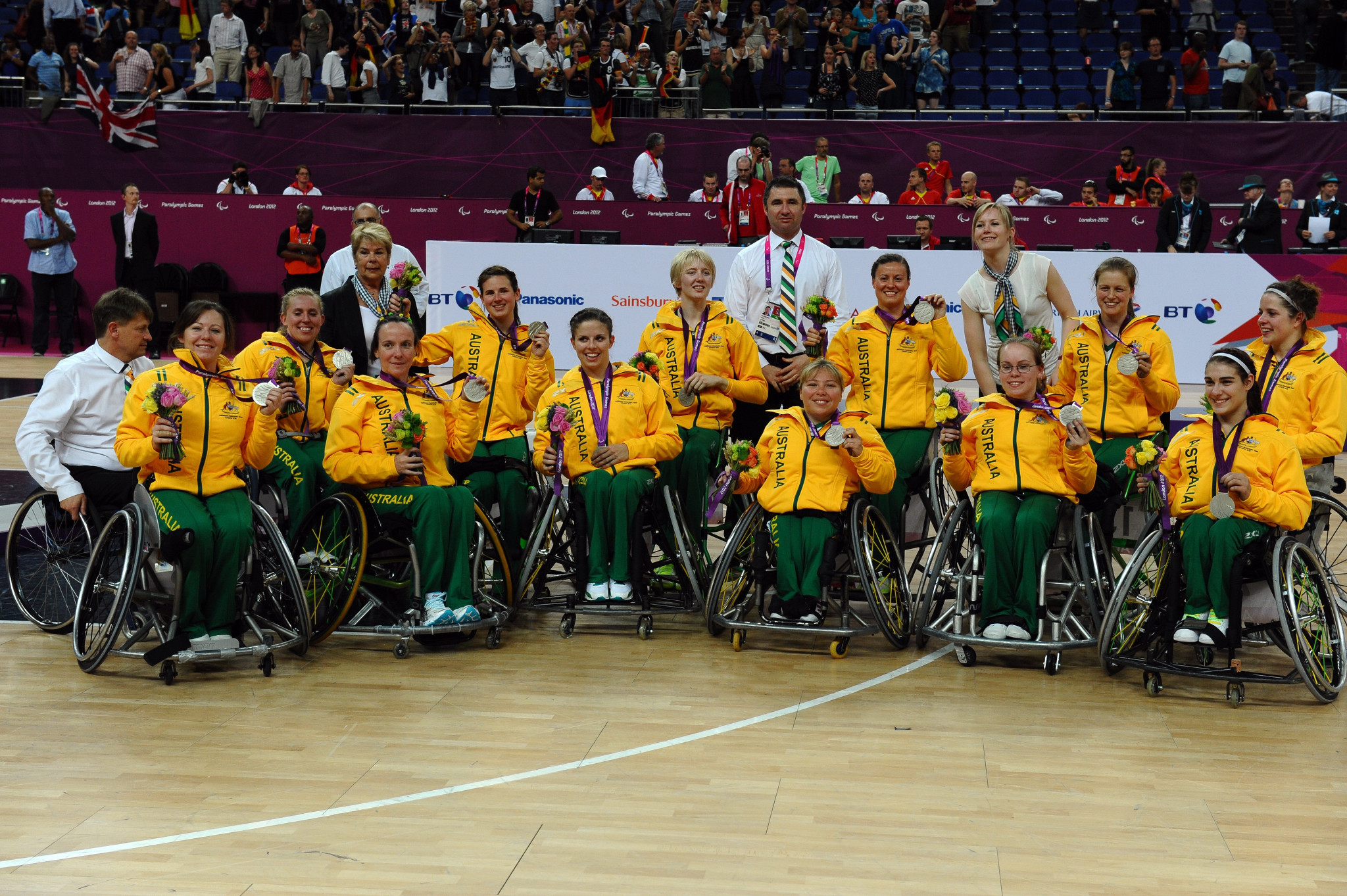 Australia's women's wheelchair basketball team will hope to go one better at Tokyo 2020 than their last Paralympic appearance - when they took silver at London 2012 ©Getty Images