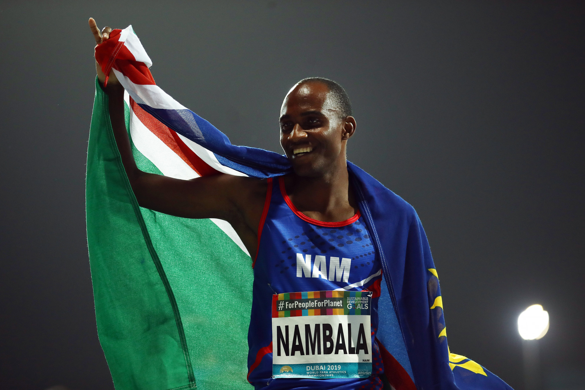"Nambala eyeing career ""turning point"" with gold at Tokyo 2020 Paralympics"