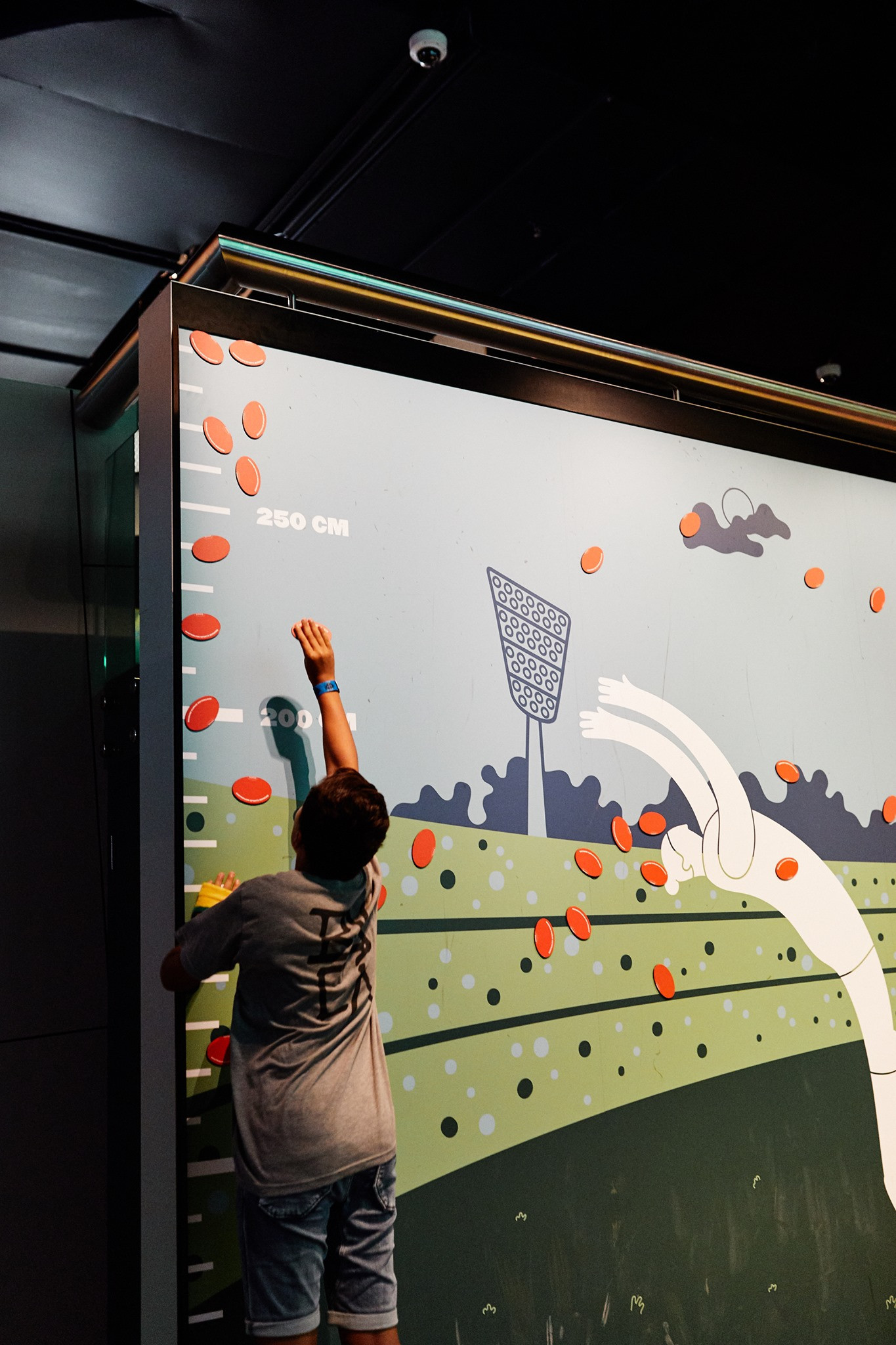 The Australian Sports Museum in Melbourne combines traditional exhibits with the opportunities to take part in interactive displays ©Australian Sports Museum