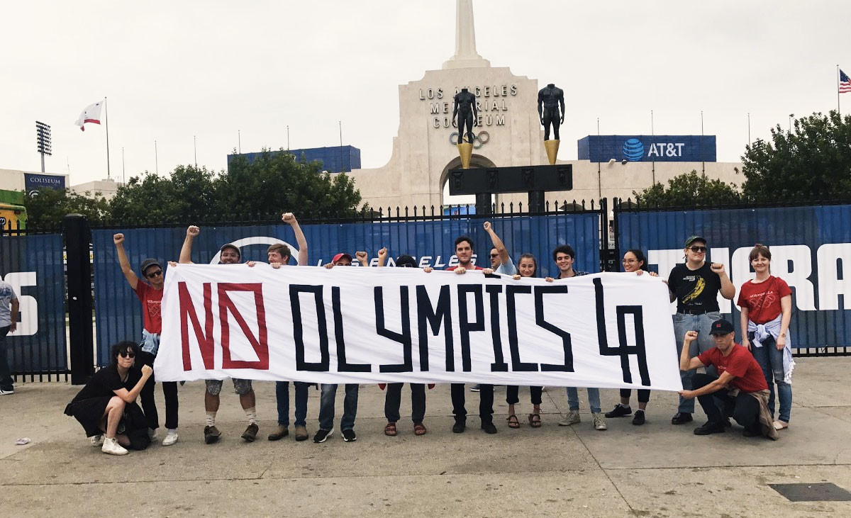 """NOlympics claim Los Angeles 2028 will """"exacerbate the crisis"""" in the US"""