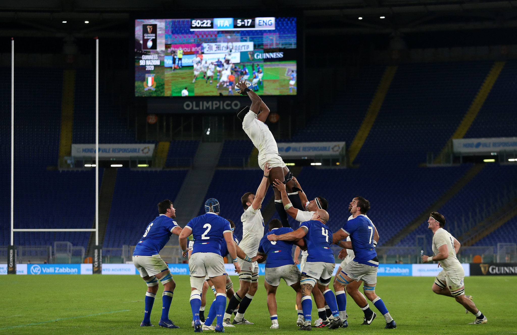International rugby matches have resumed but are taking place with no spectators ©Getty Images