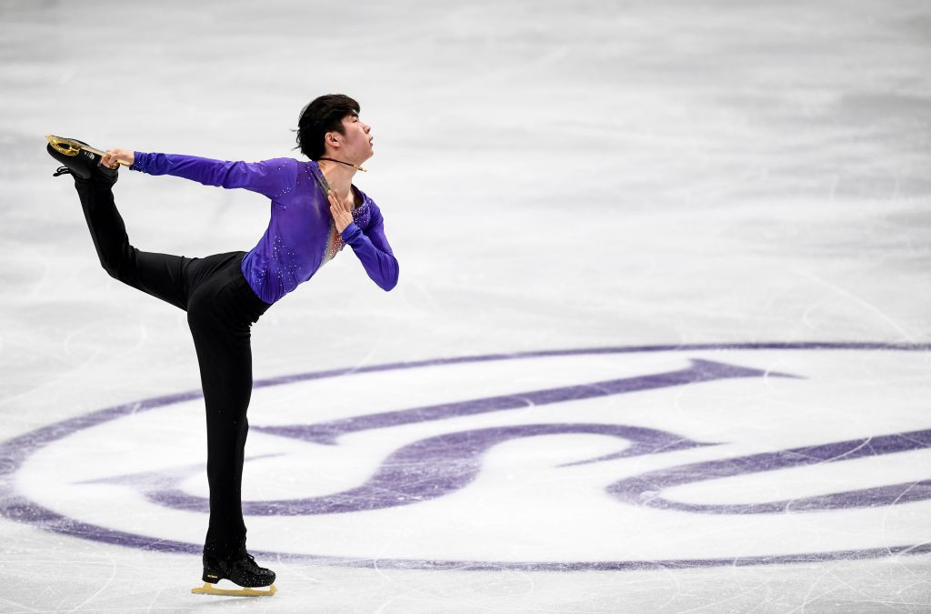 Jin Boyang made a strong start to his pursuit of gold at the Grand Prix of Figure Skating event ©Getty Images