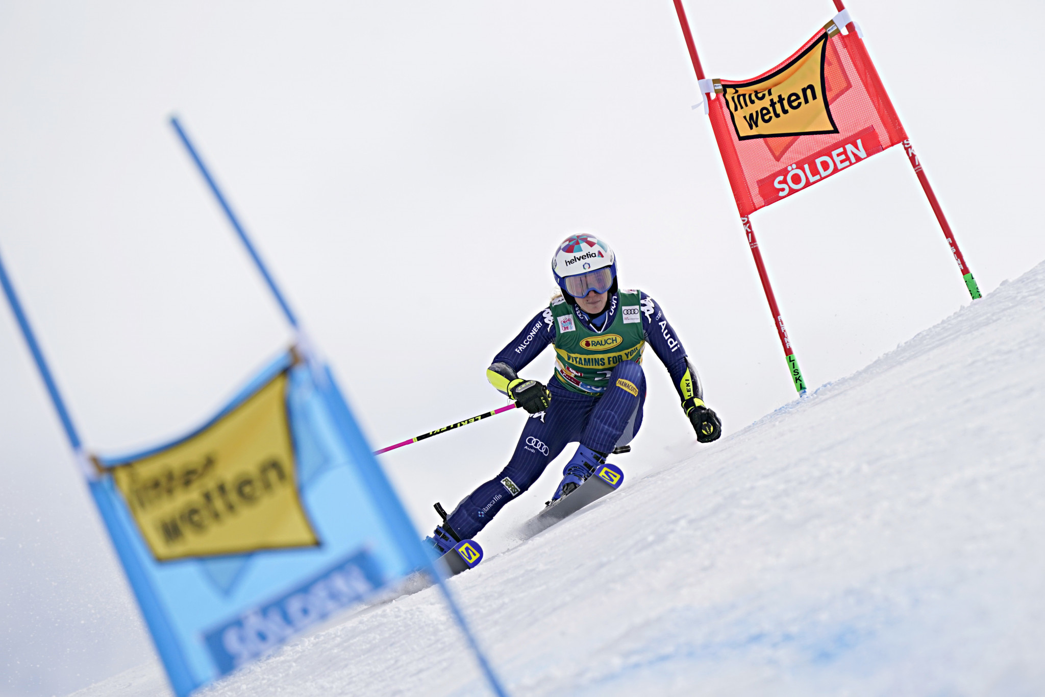 Marta Bassino got her Alpine Ski World Cup season off to a dream start with giant slalom victory in Sölden ©Getty Images