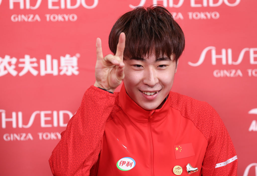 Jin and Chen ease to gold at ISU Grand Prix of Figure Skating Cup of China