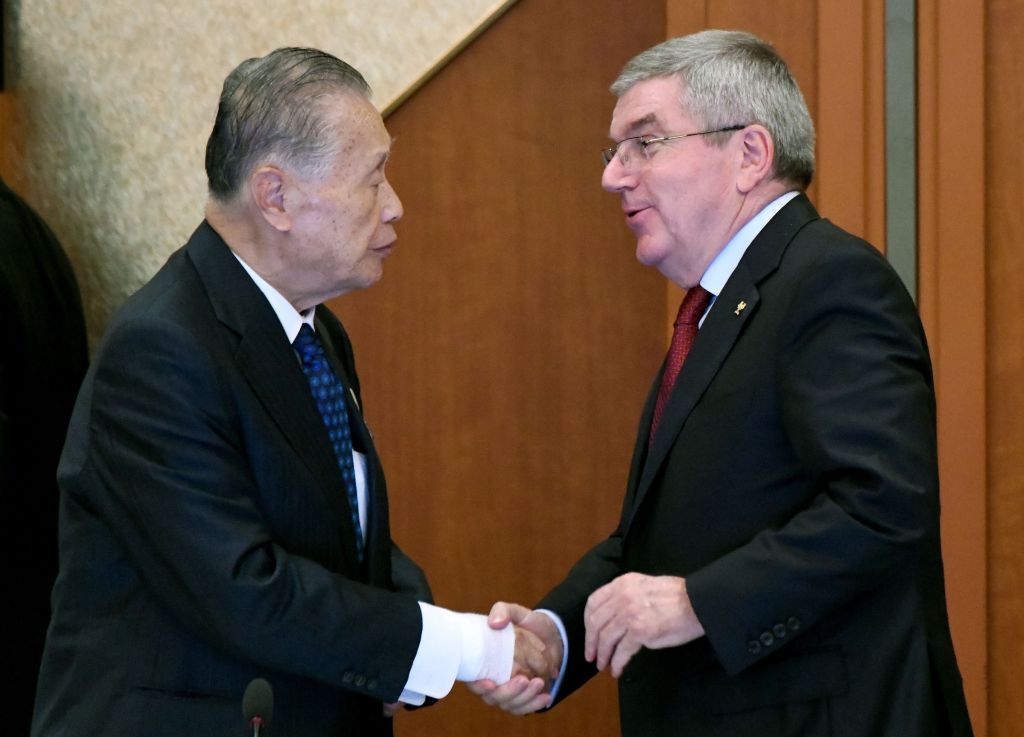 Tokyo 2020 President Yoshirō Mori has confirmed Thomas Bach's impending visit to Tokyo ©Getty Images