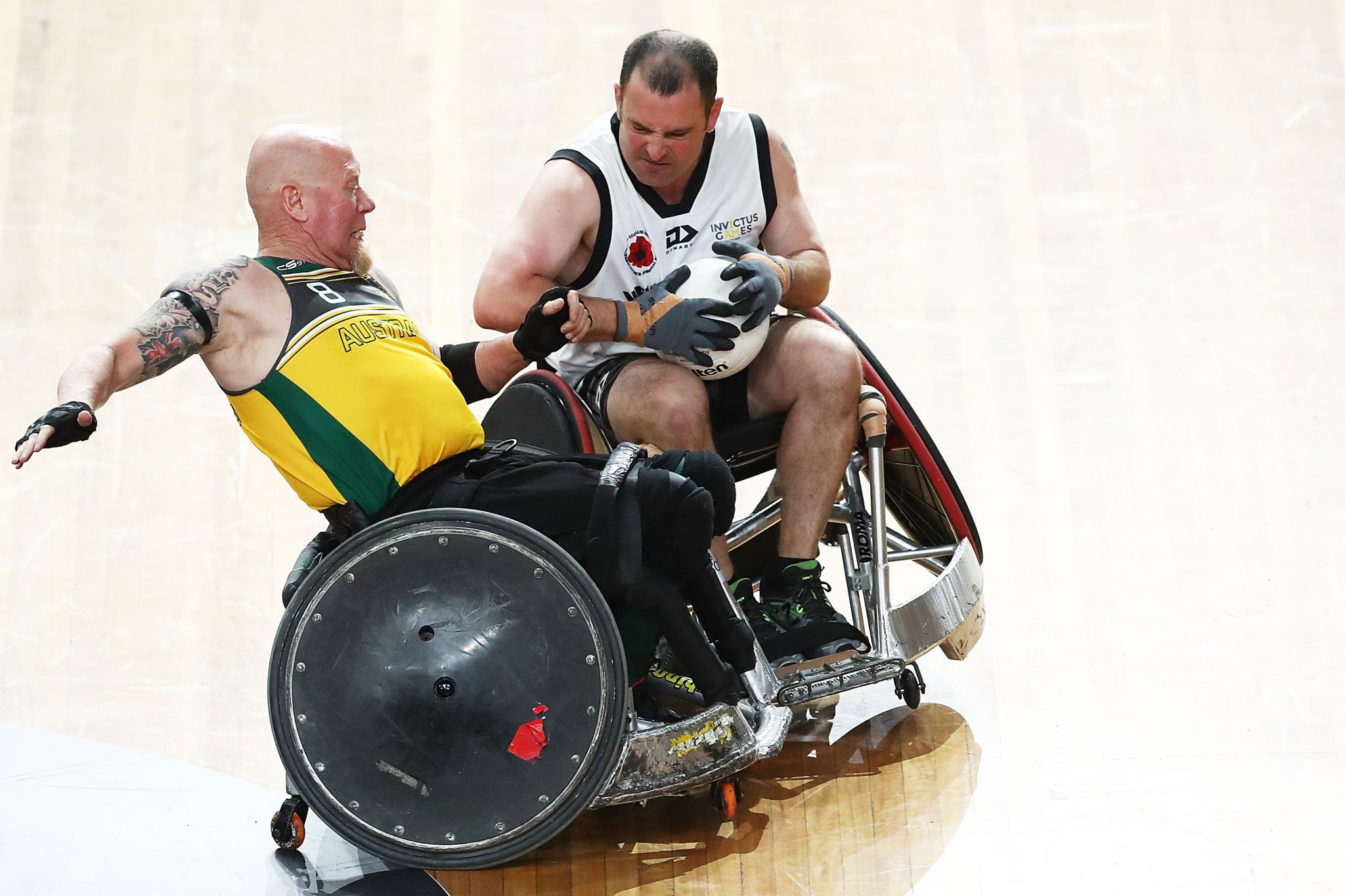 Steve Griffiths, chief executive of the IWRF, believes consultancy Sport2Sport will help to grow wheelchair rugby ©Getty Images