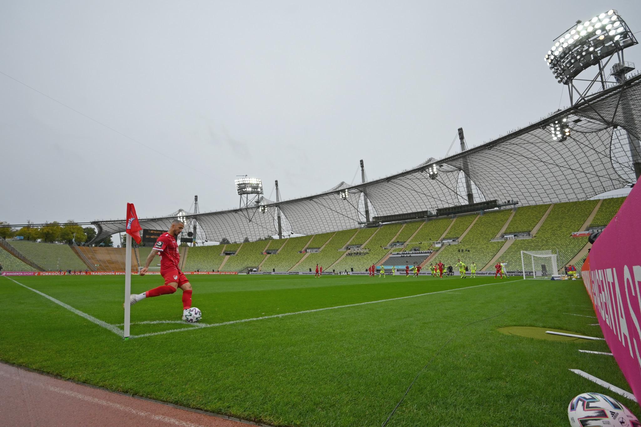 Football returns to Munich Olympic Stadium ahead of 2022 European Championships