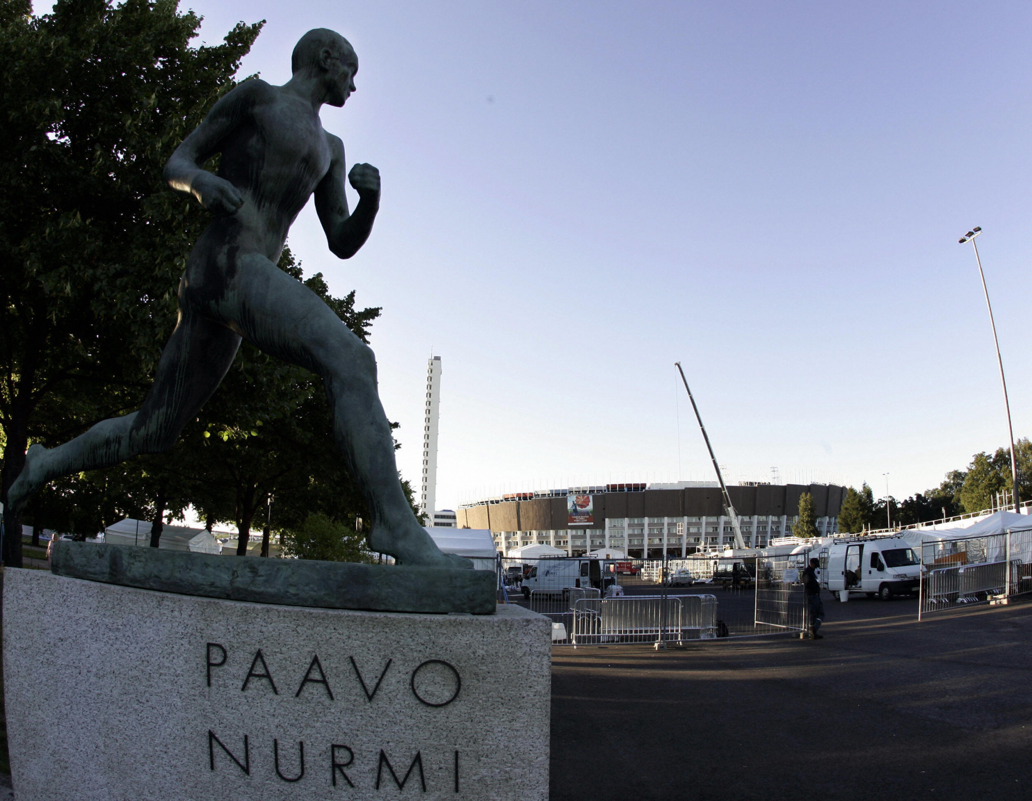 Supporters want a statue of Matti Nykänen to be placed outside the Olympic Stadium in Helsinki alongside the original