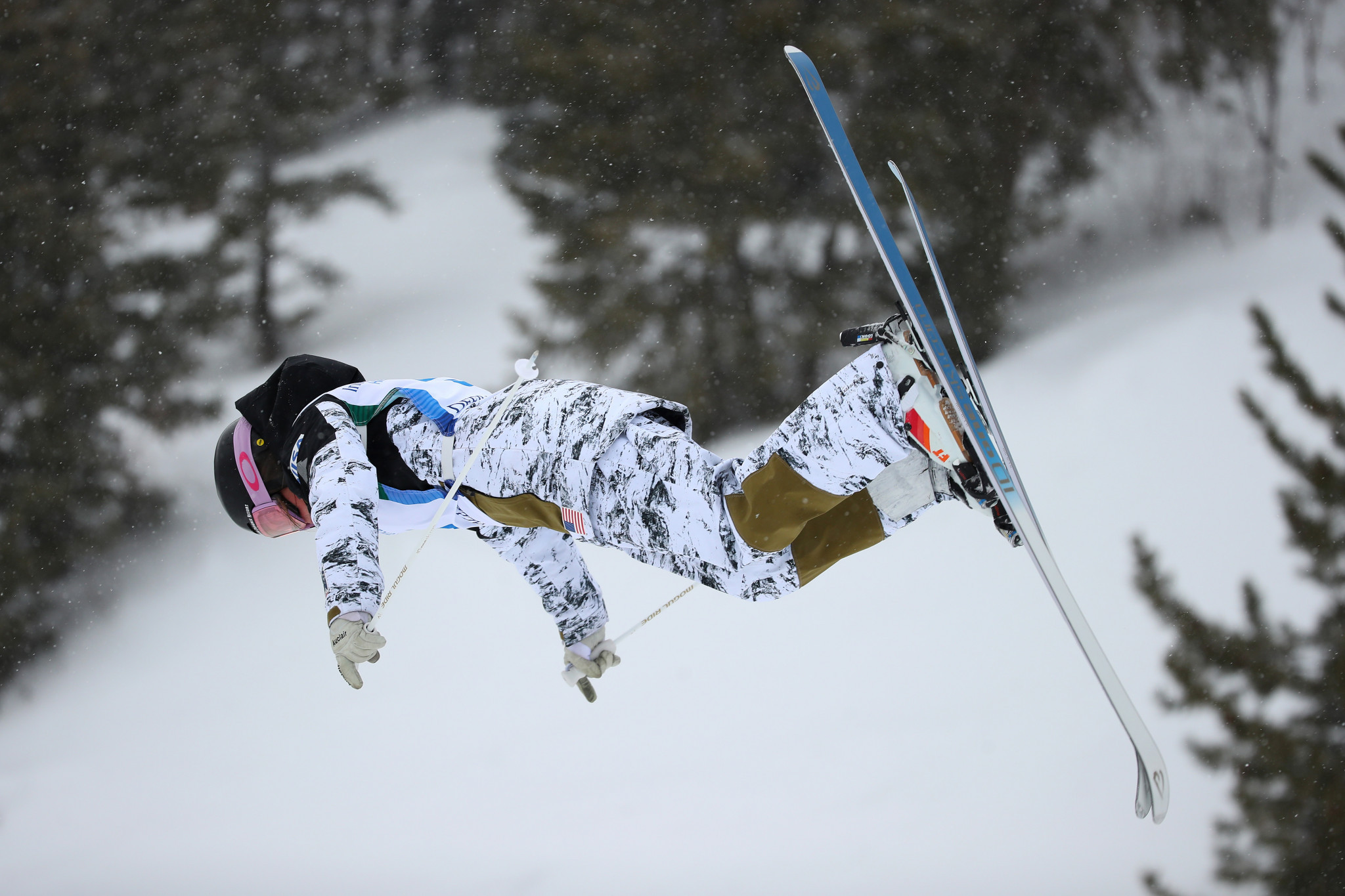 Jaelin Kauf spearheads the moguls team for the upcoming season ©Getty Images