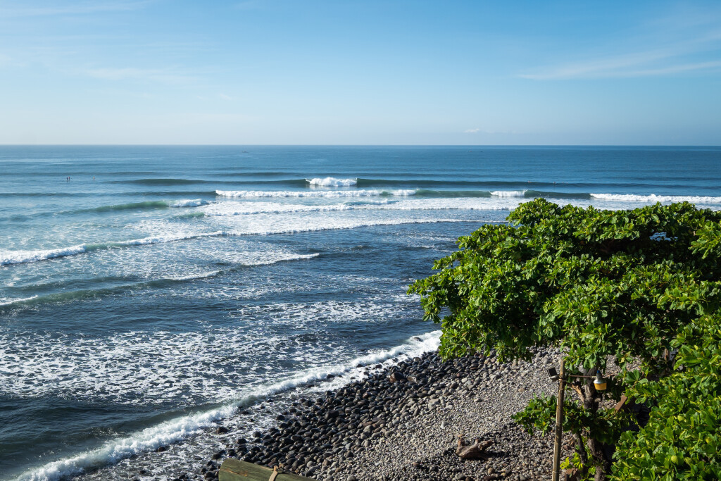 El Sunzal beach, one of the two venues in El Salvador that will host the final International Surfing Association Tokyo 2020 qualifier from May 29 to June 6 next year ©ISA