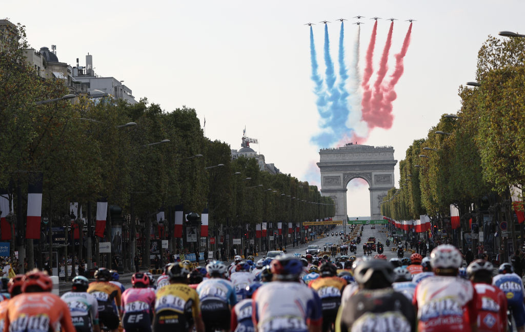 The Tour de France was held under the series of COVID-19 protocols implemented by the UCI ©Getty Images