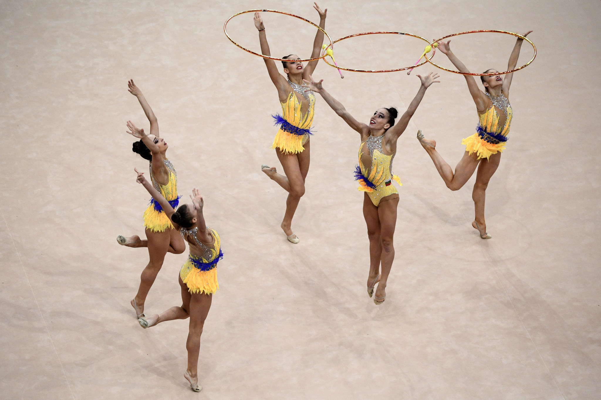 Bulgaria withdraw from group events at European Rhythmic Gymnastics Championships