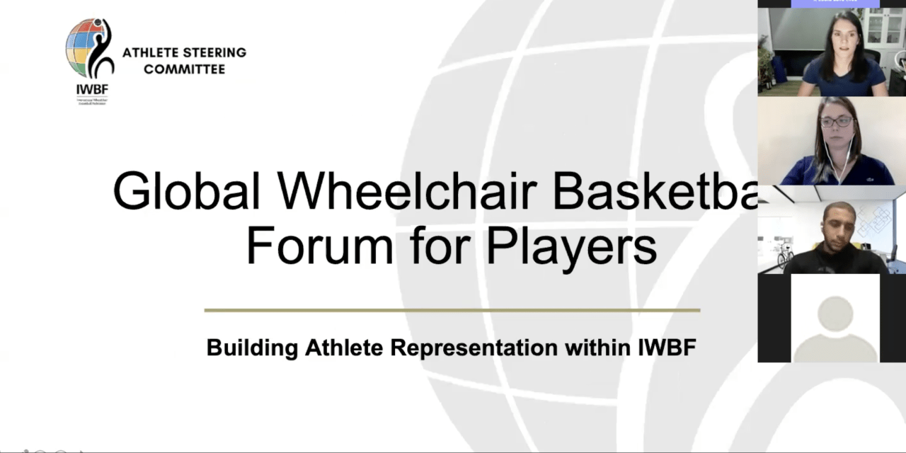 """IWBF Athlete Steering Committee receive """"extremely useful"""" feedback on Players' Commission"""