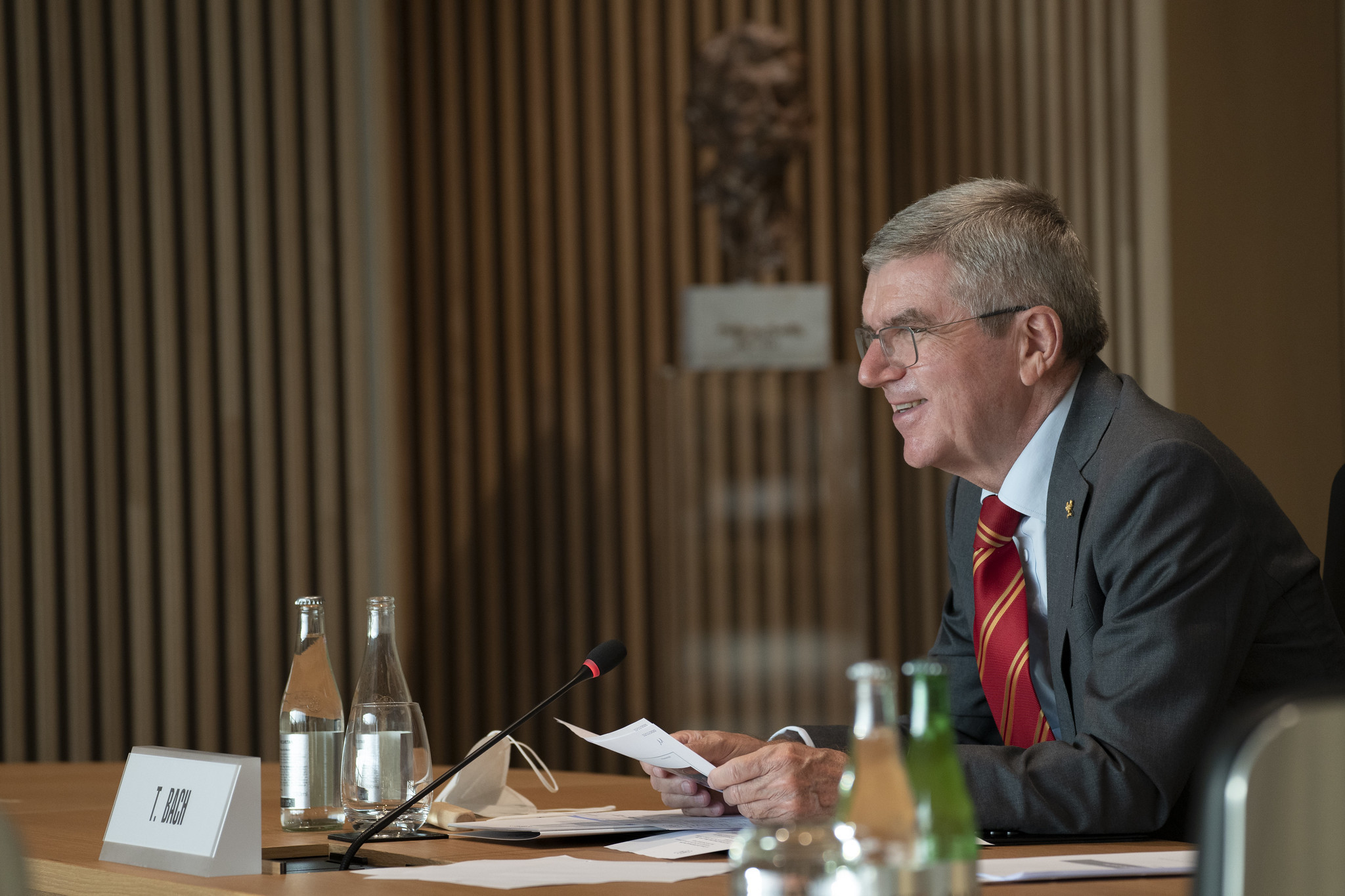 IOC President Thomas Bach will visit Tokyo next week ©IOC