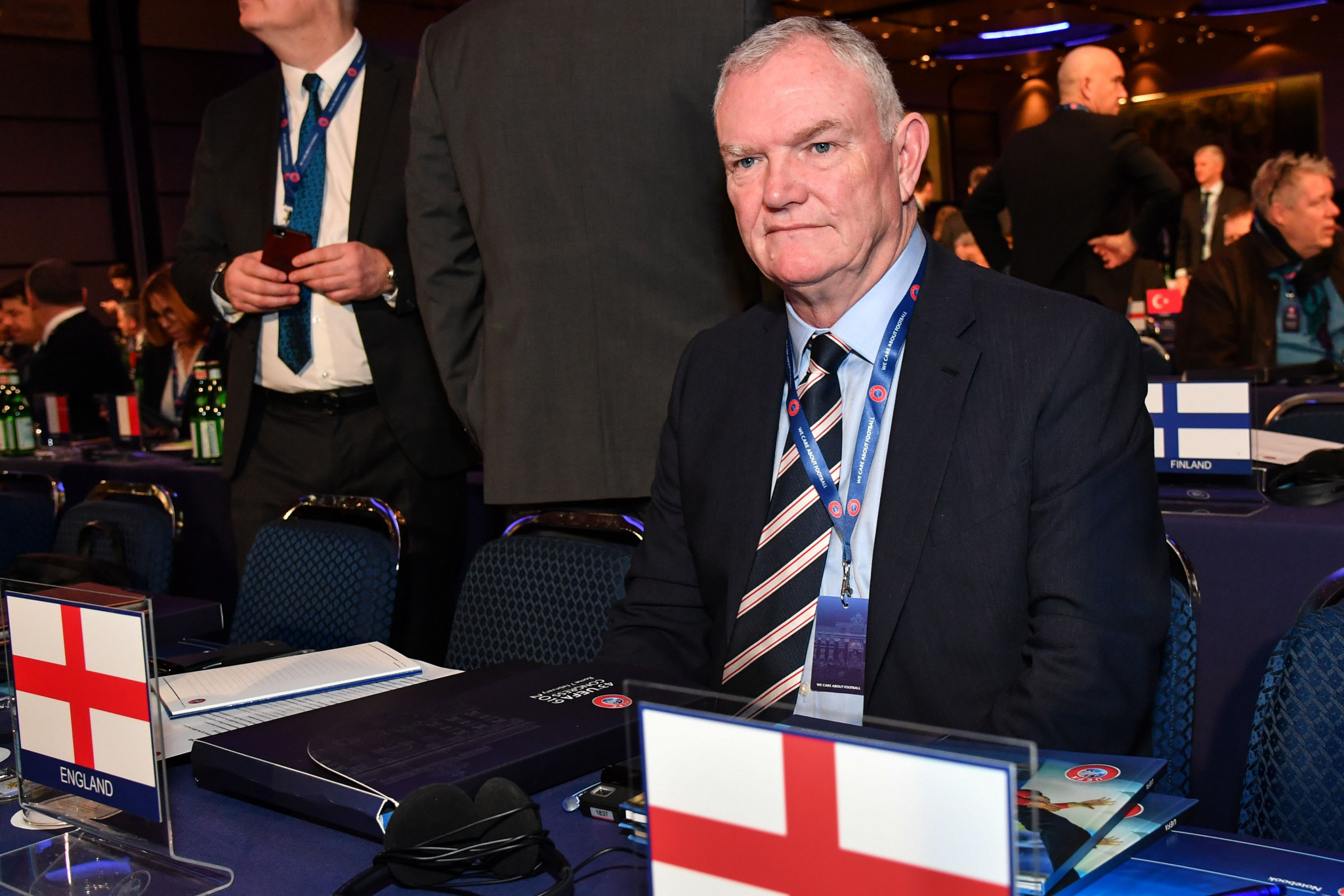 Clarke to leave FIFA vice-president post after resignation as FA chairman