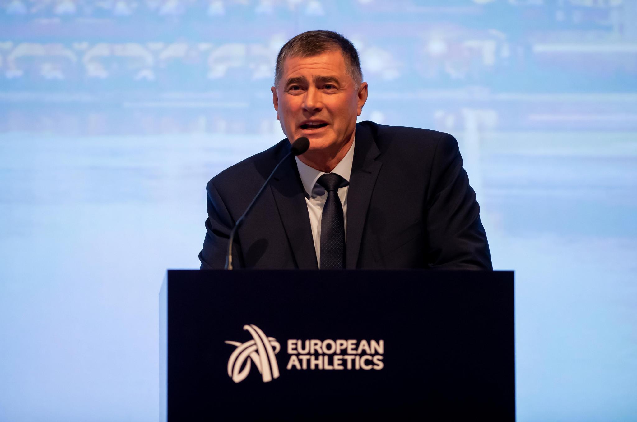 """Today we will start again"", Interim President Karamarinov says as European Athletics Indoor Championships begin"