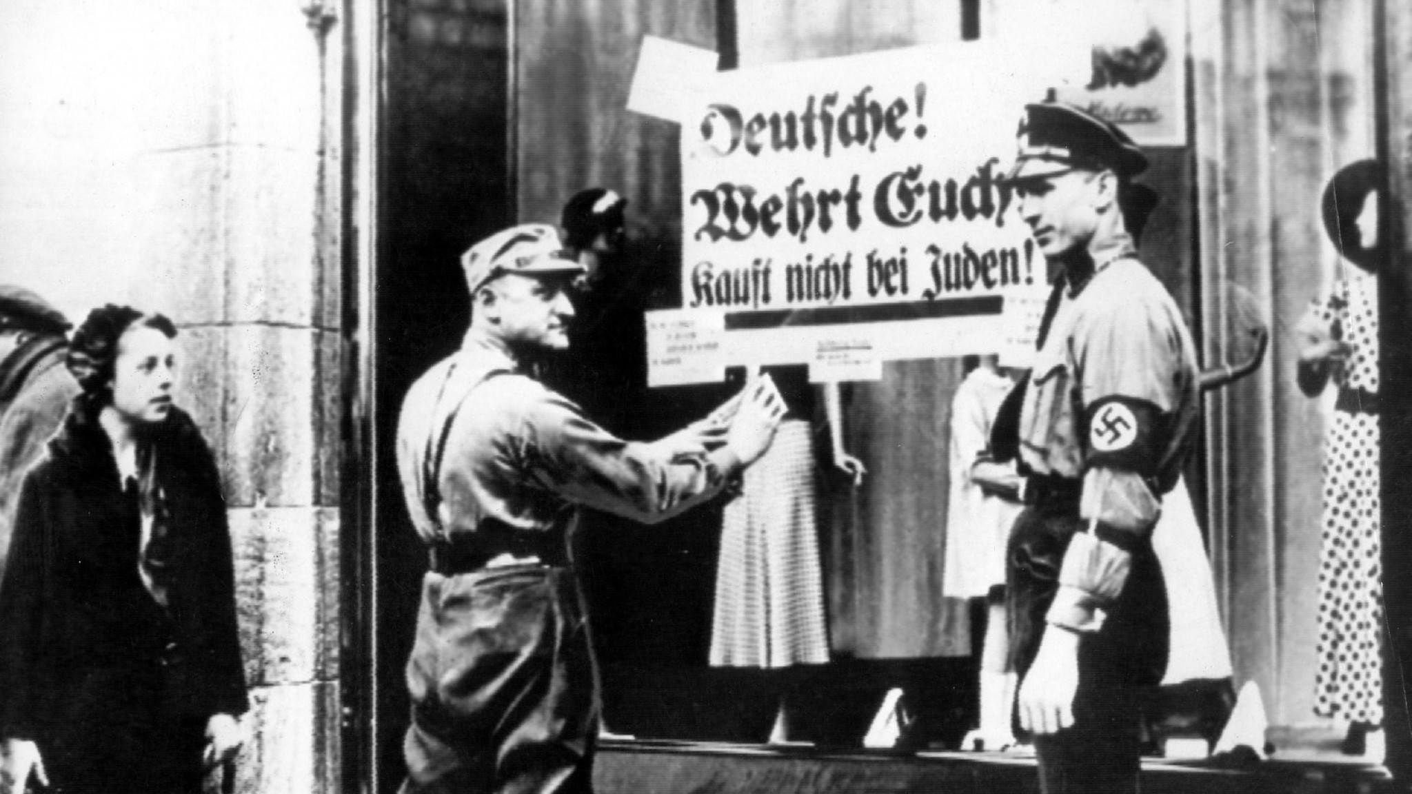 """The attack on the statues of the athletes in Bochum coincided with the 82nd anniversary of """"the Night of the Broken Glass"""", a pogrom against Jews carried out across Nazi Germany in November 1938 ©Getty Images"""