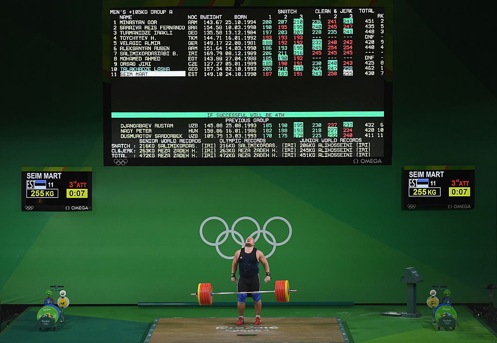 WADA's investigation into weightlifting will be considered by the IOC when it decides if the sport keeps its place on the Paris 2024 programme ©Getty Images