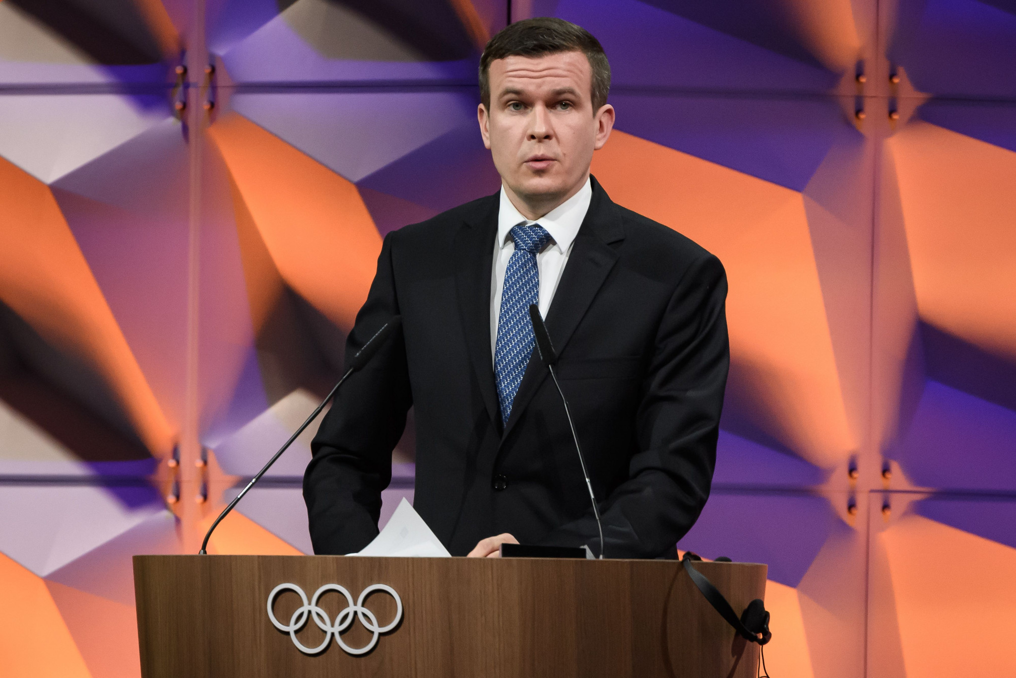 Senior WADA officials, including President Witold Bańka have been forced to defend the organisation's governance reform process amid criticism ©Getty Images